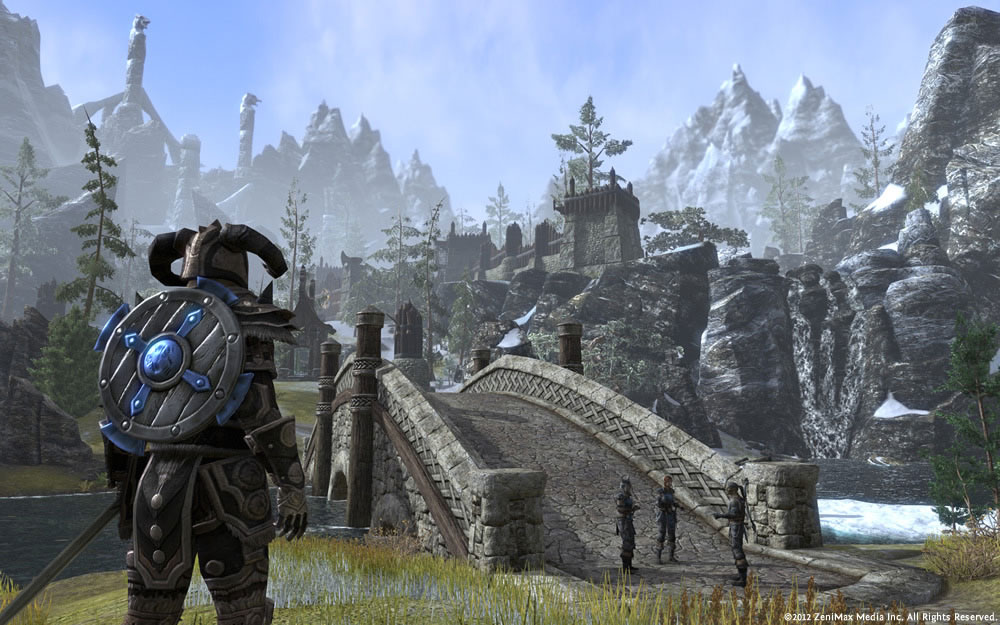 Elder Scrolls Online's dungeons cater to loners and group players