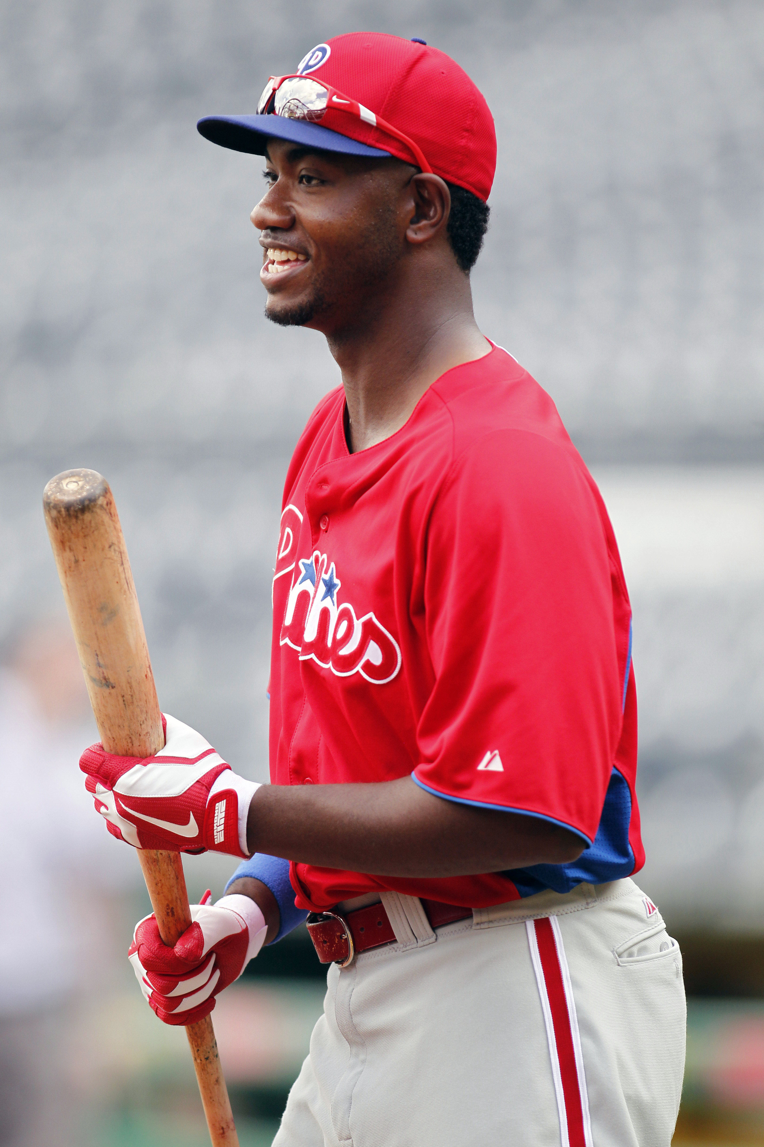 National League All-Star outfielder Domonic Brown