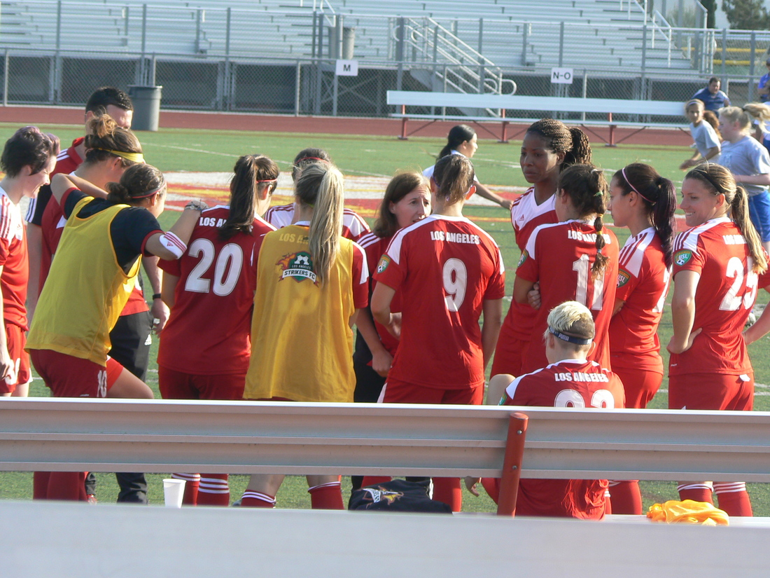 Under Coach Kevins, the Strikers made it to the playoffs for the first time.