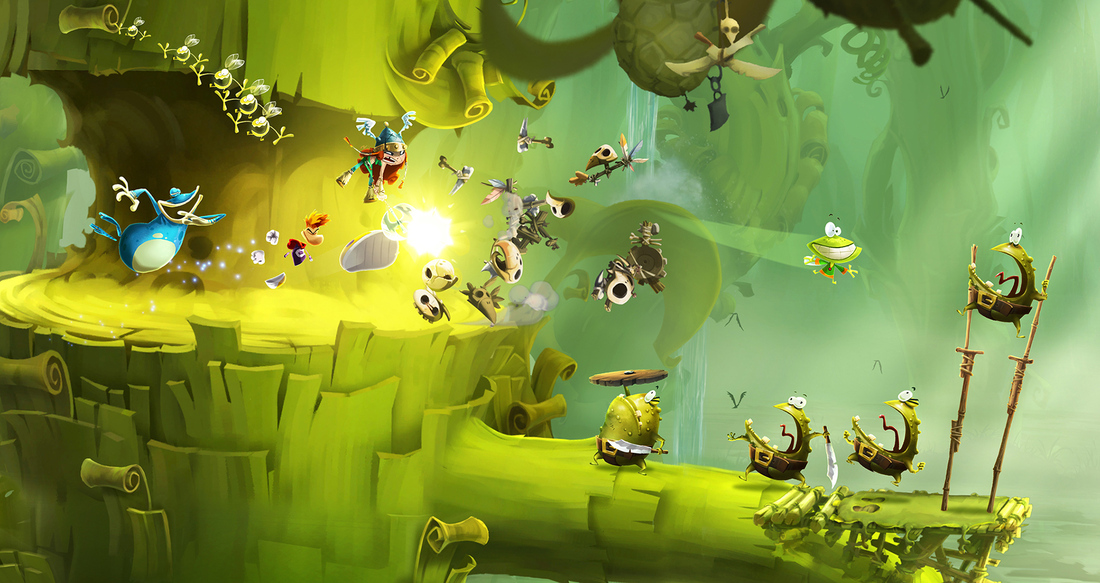 Rayman Legends will include 40 remastered Rayman Origins levels