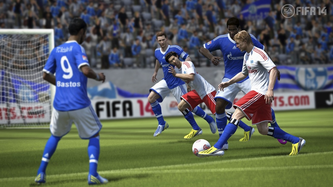FIFA 14 features 19 officially licensed Brazilian clubs