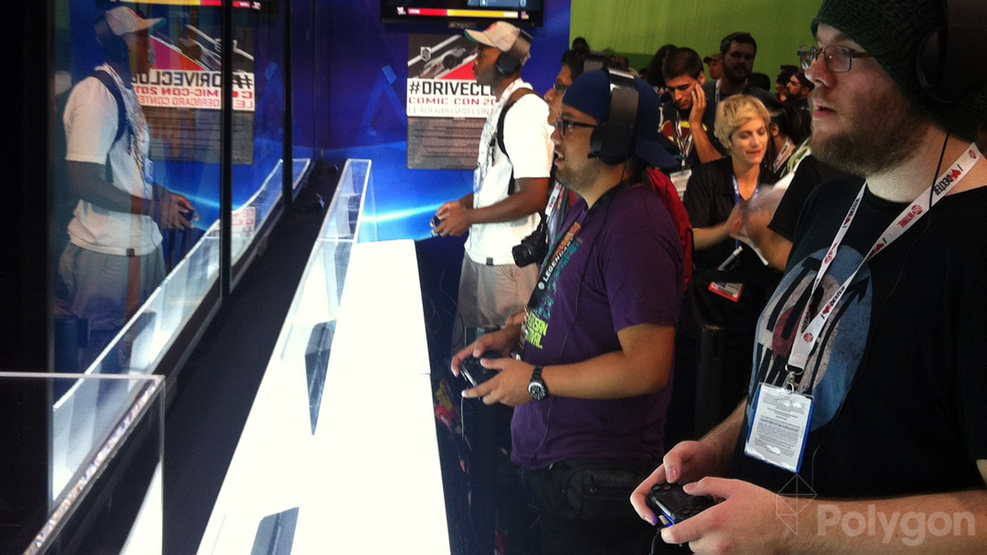 New consoles woo public with first airing at Comic-Con
