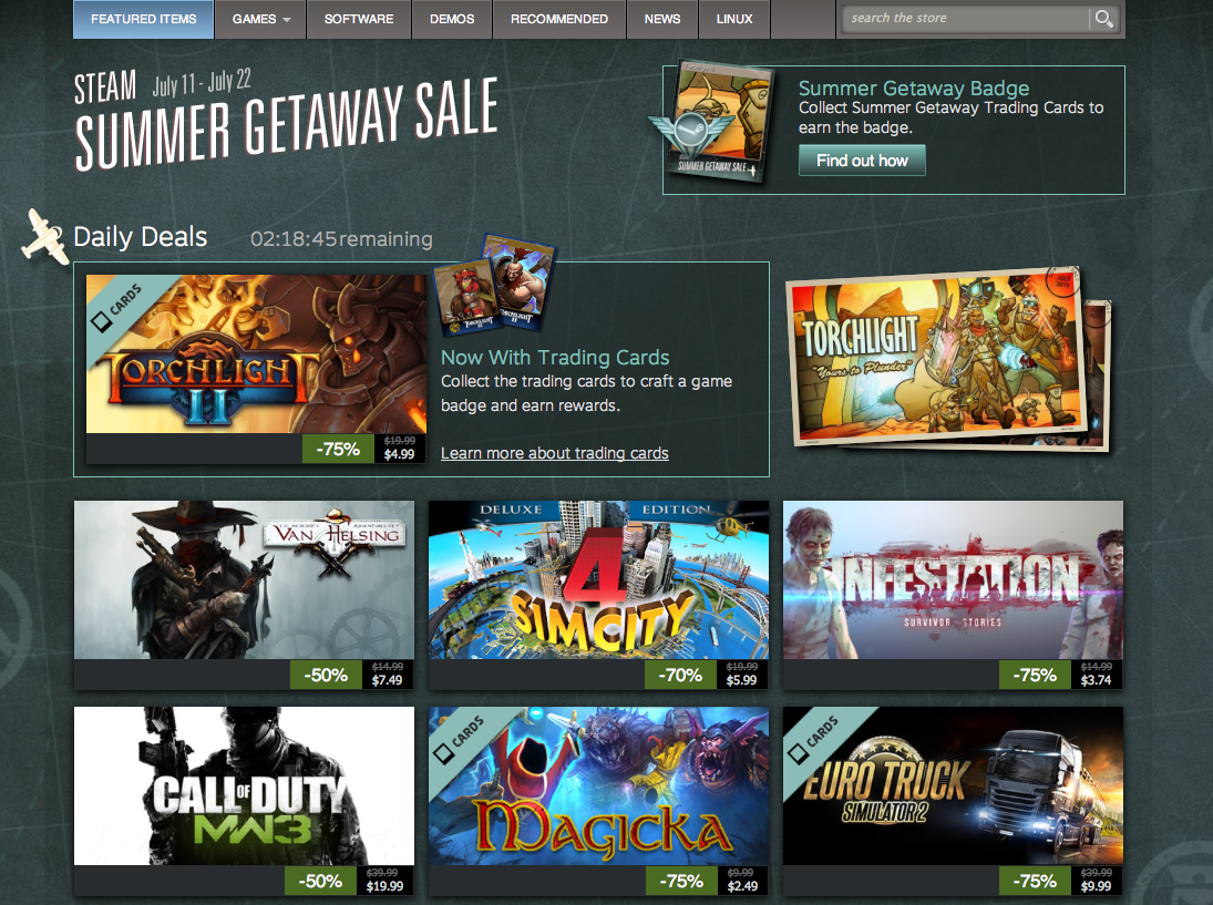 The Steam Summer Sale Conspiracy