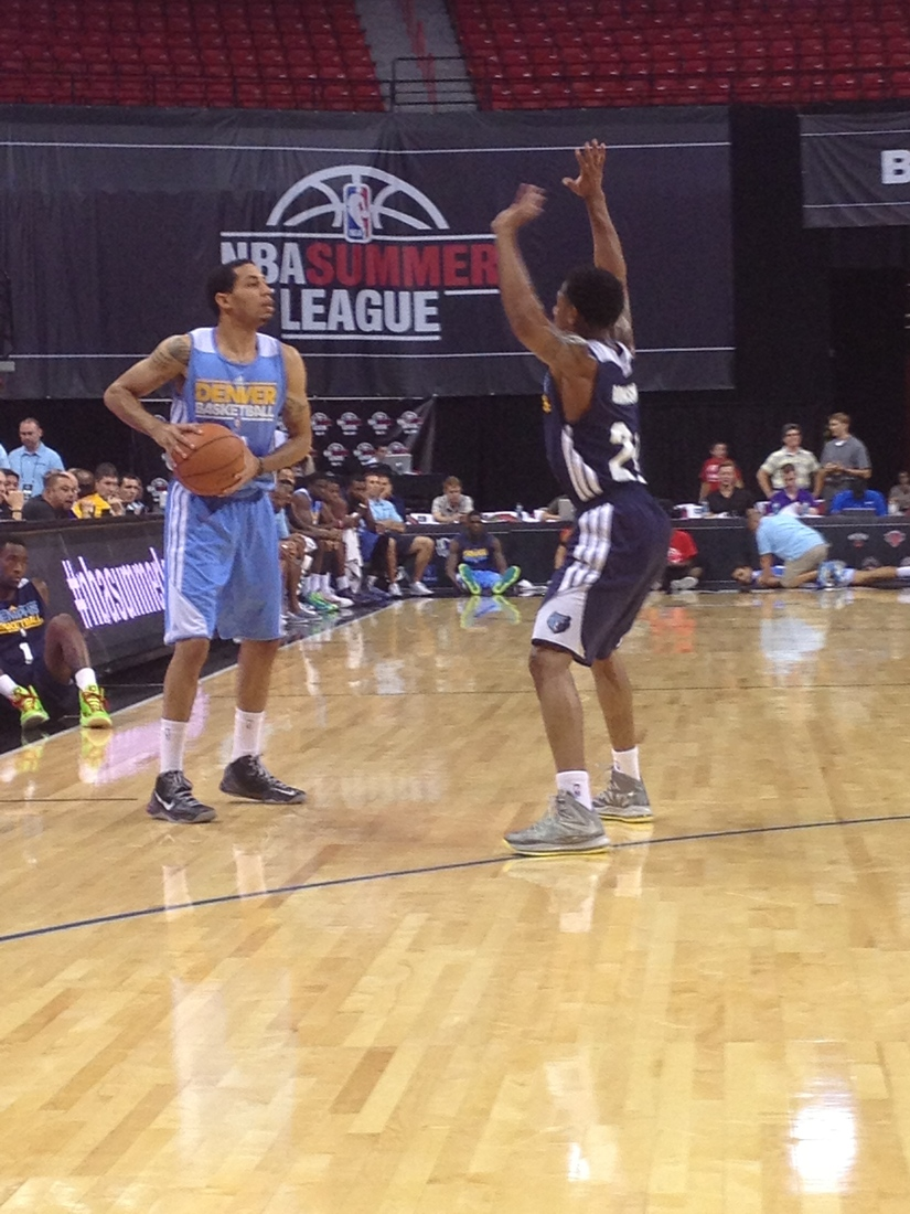 Erick Green in his final summer league game.
