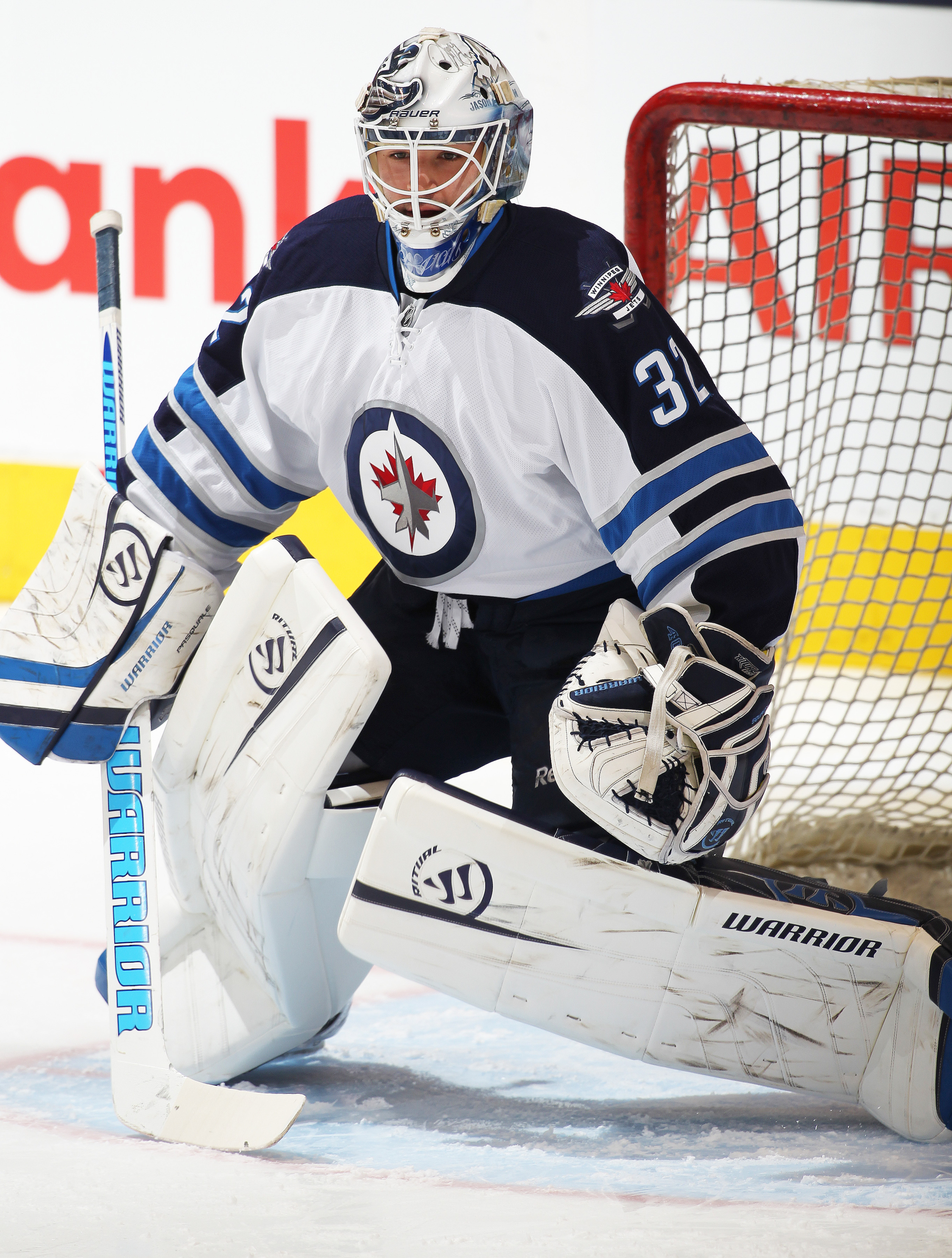 Eddie Pasquale, along with Zach Redmond and Michael Hutchinson, have signed one year contracts with the Jets