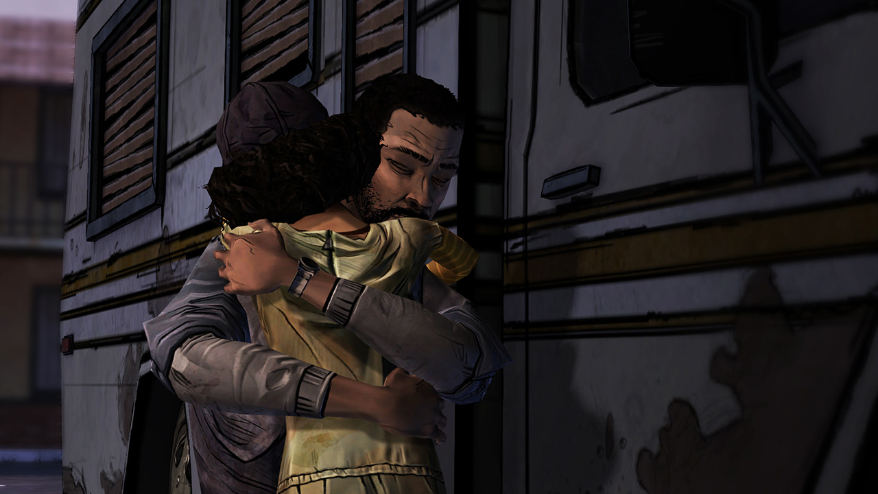 More tears for Clementine at Comic-Con