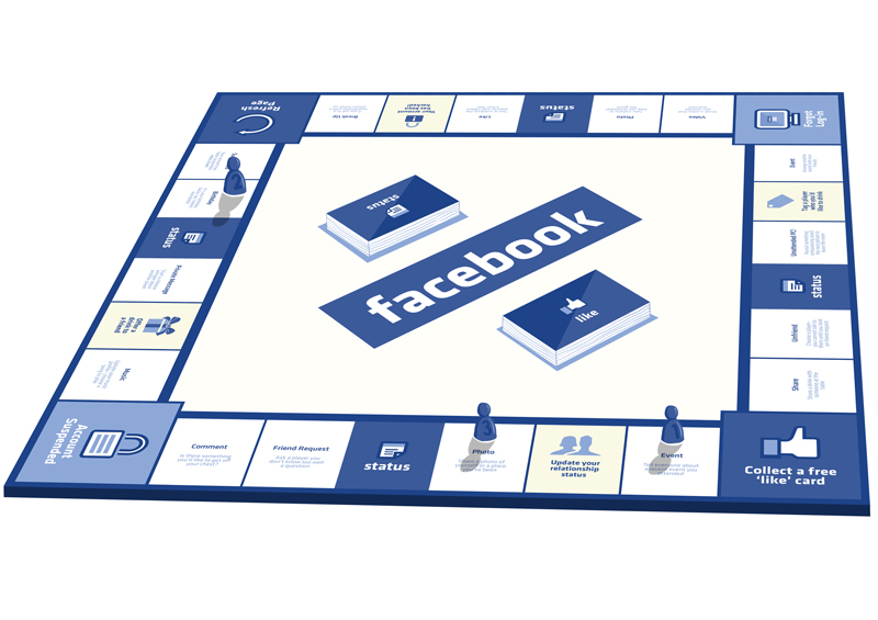 Facebook board game encourages players to stop using the internet