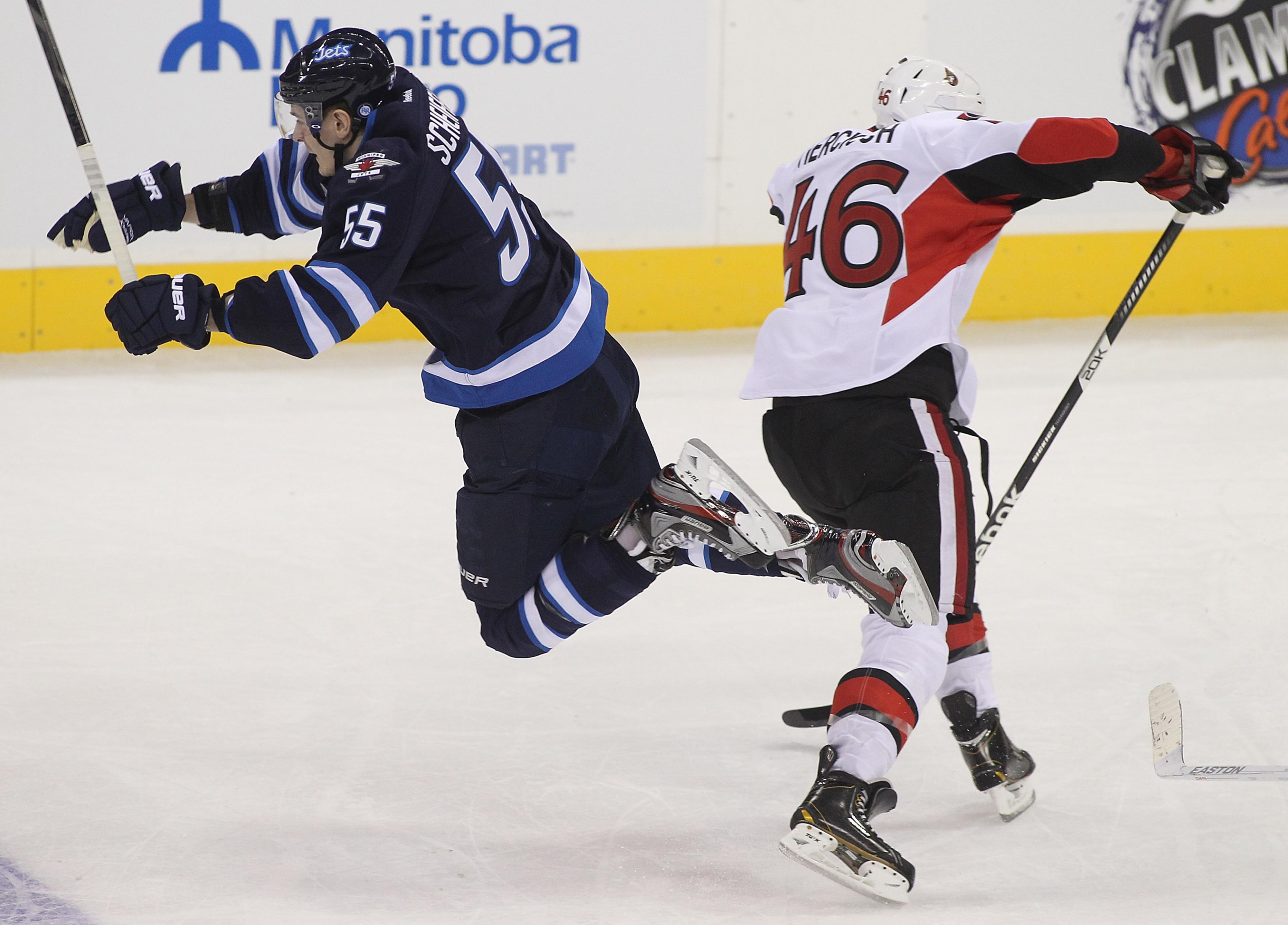 Patrick Wiercioch plays his own style of defense.