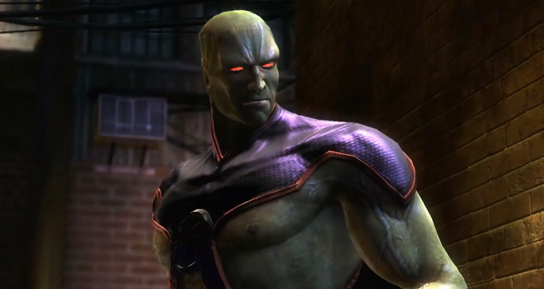 Martian Manhunter coming to Injustice as DLC next week