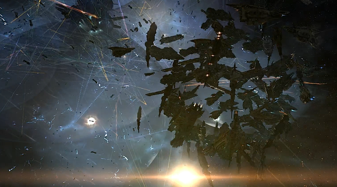 Eve Online was the stage for the biggest space battle in history