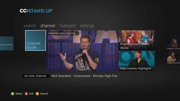 Stand-up takes the mic on Xbox Live