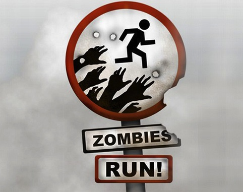 Zombies, Run! includes achievements for distance, speed
