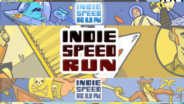 Notch, Molyneux, Suda51 on Indie Speed Run judges panel