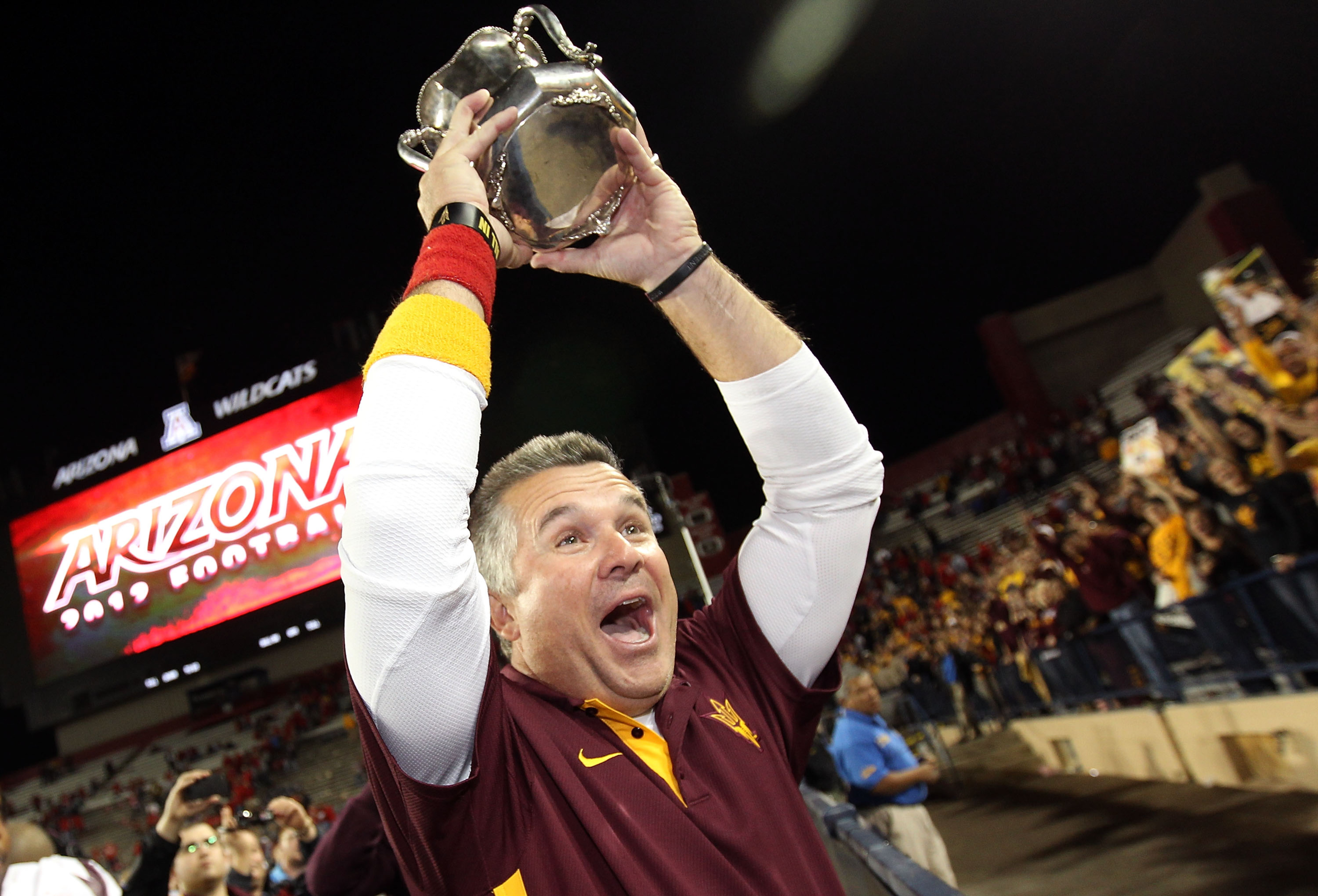 The exposure to recruits that ASU will be getting this fall should get Todd Graham excited.