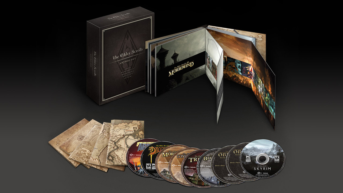 The Elder Scrolls Anthology coming to PC Sept. 10