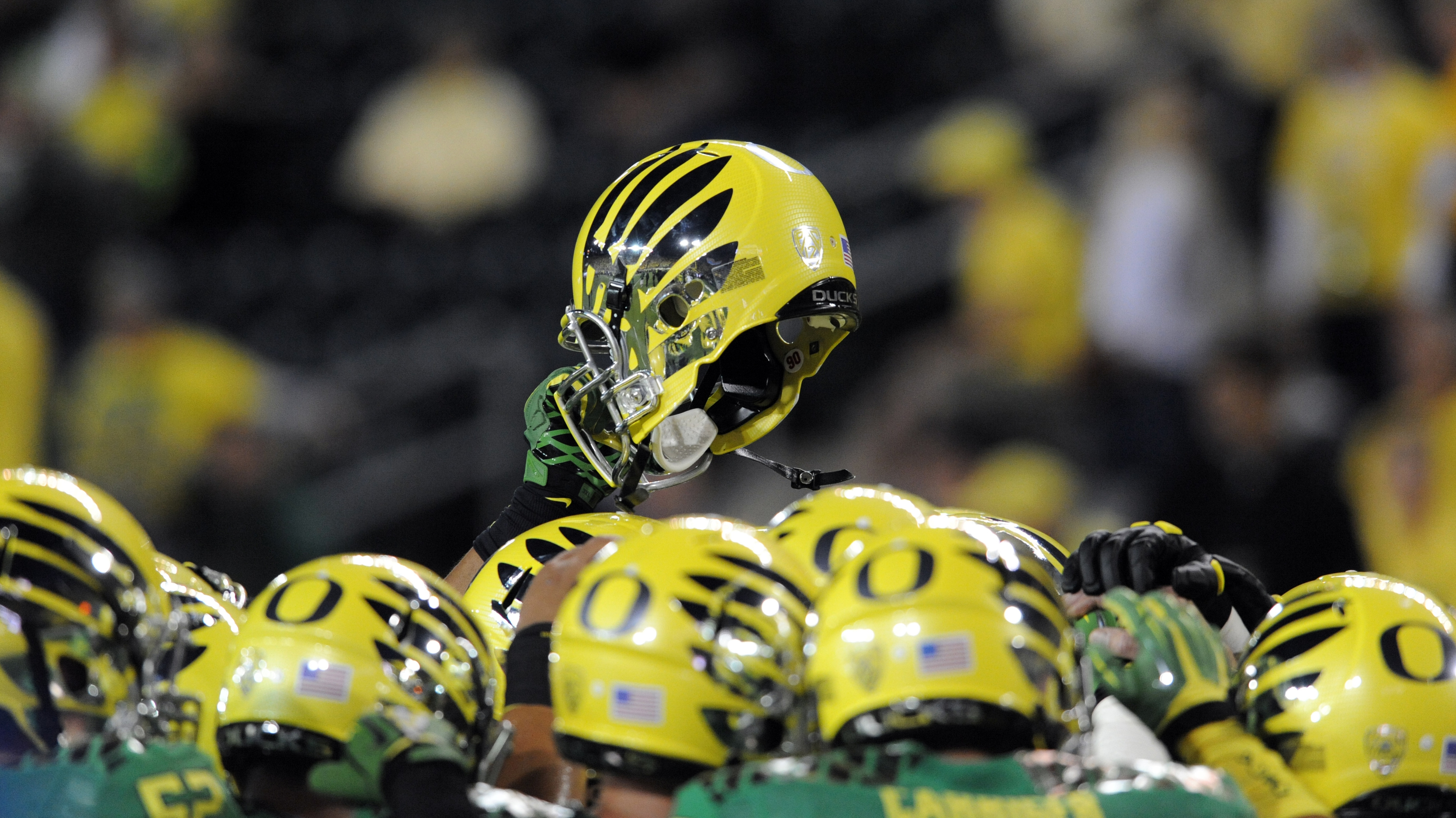 From head to toe, the Ducks set the tone.