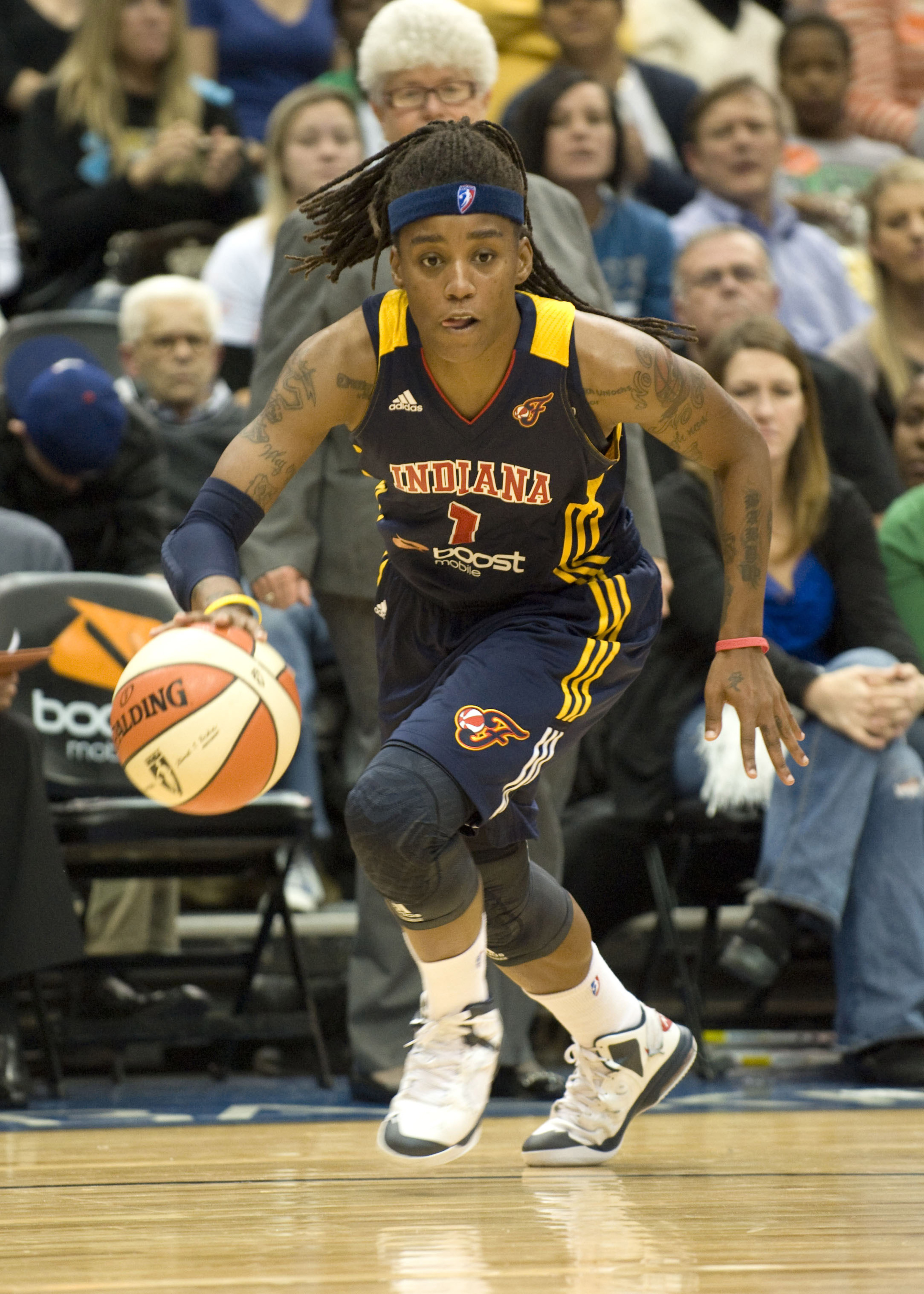 Should the Fever win the game tonight, the league will be jealous of Zellous.