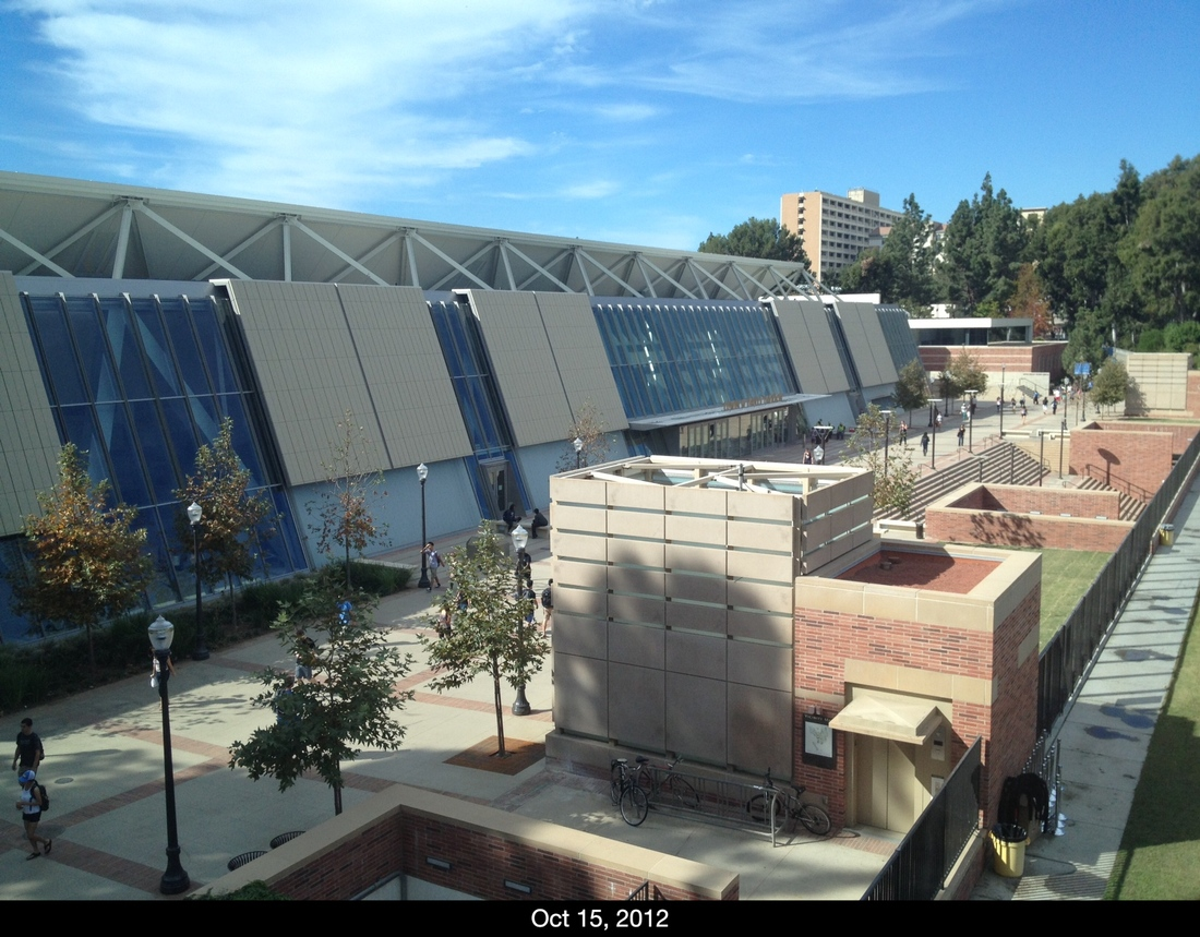 View of the renovated Pauley