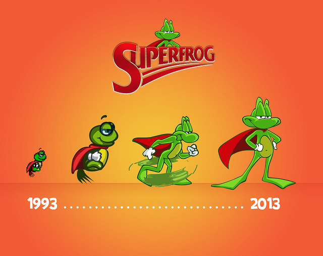 Superfrog HD out this week on PSN