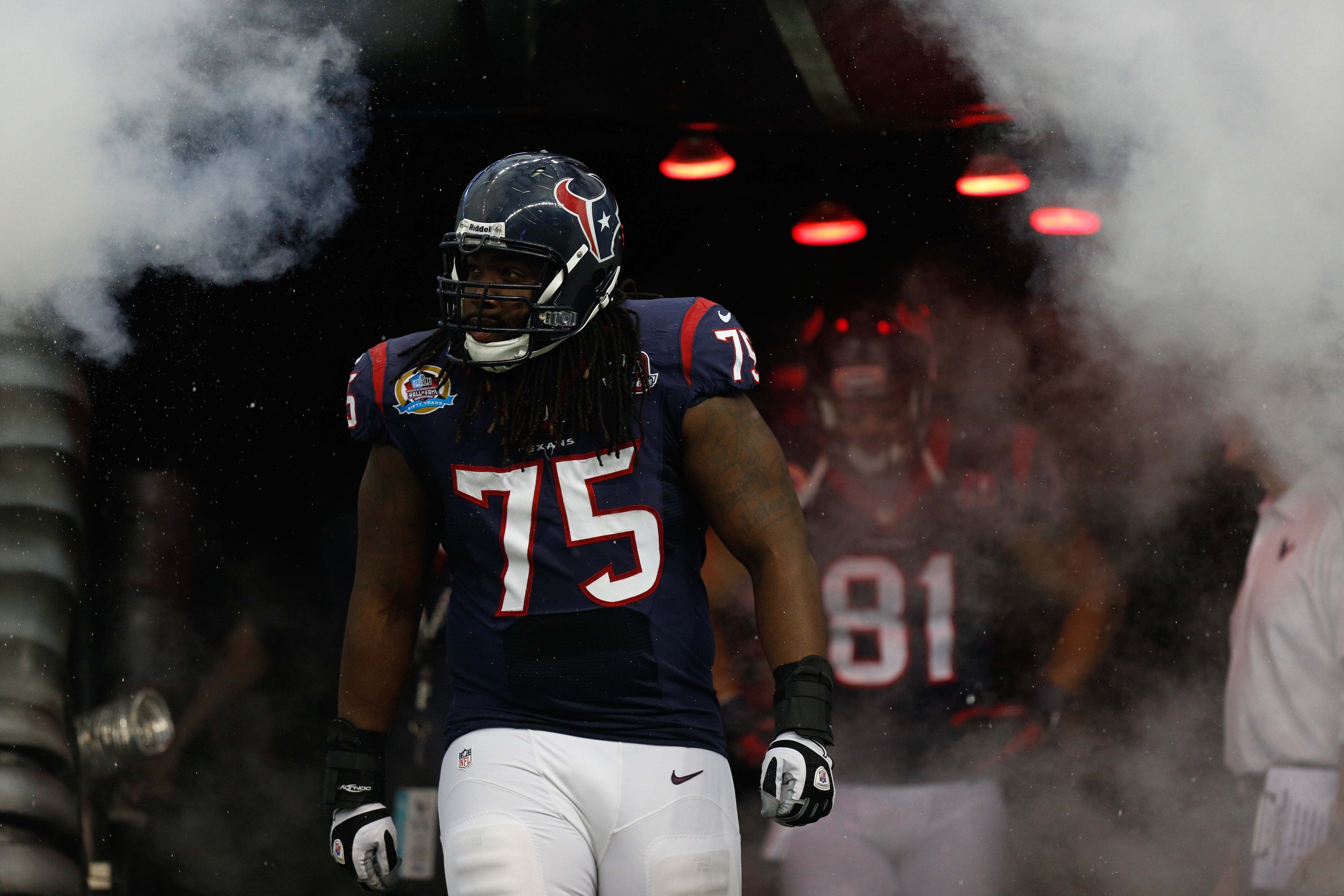 Derek Newton coming out of the tunnel