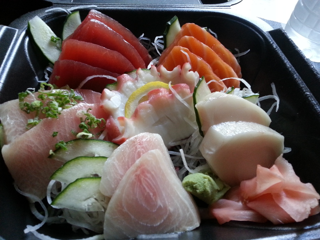 Sashimi deluxe. For the win.