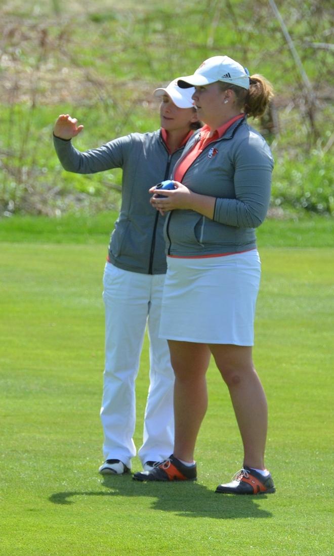 BGSU Women's Golf Head Coach Stephanie Young