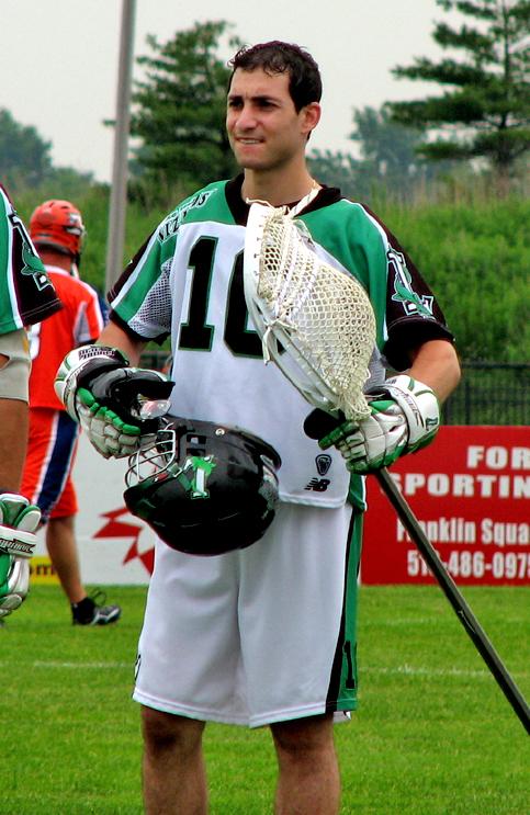 Andrew Goldstein tended goal for the Long Island Lizards in 2006