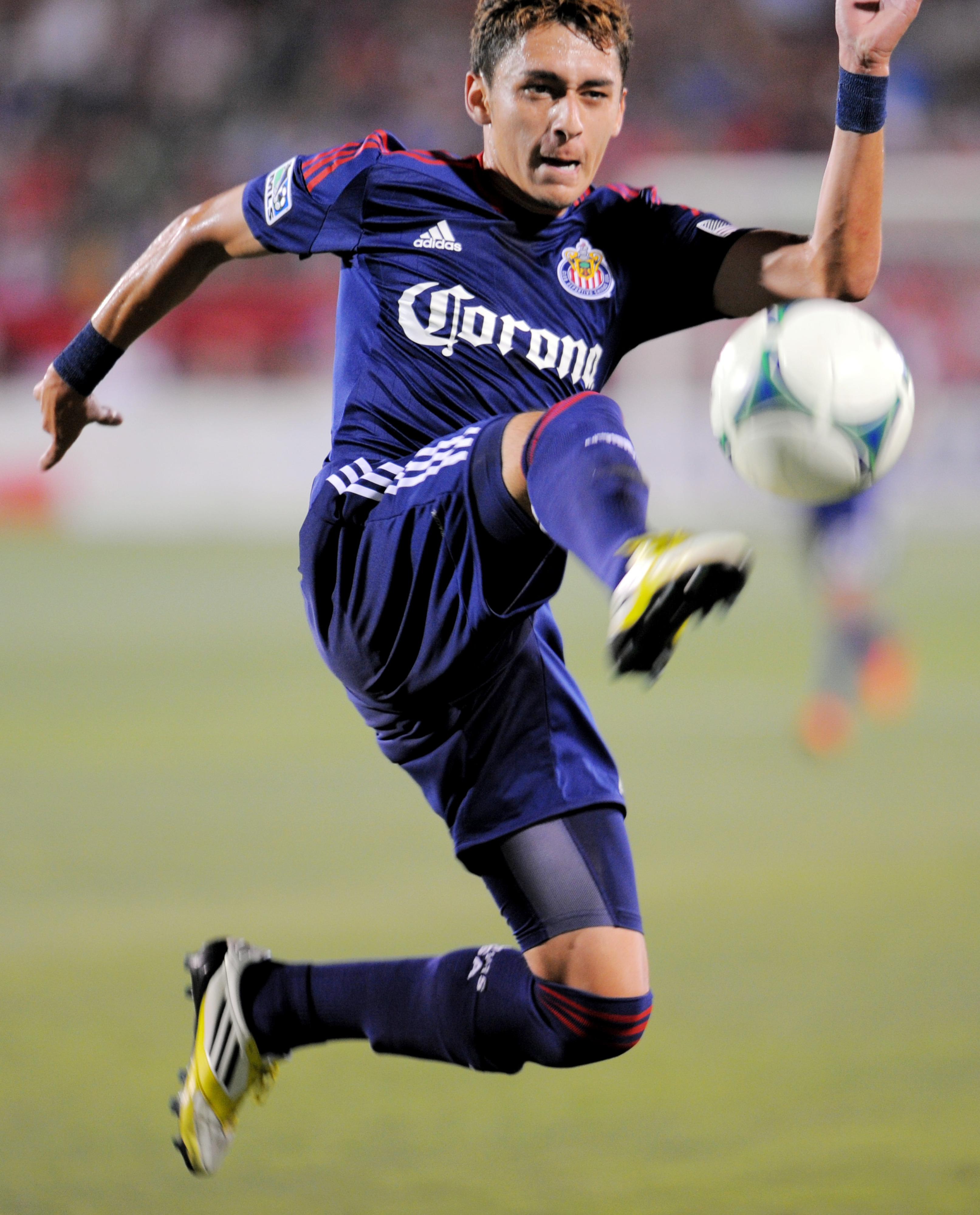 Chivas USA Academy product Marco Delgado