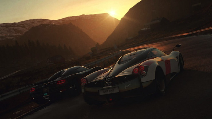 DriveClub environmental settings, visual effects detailed