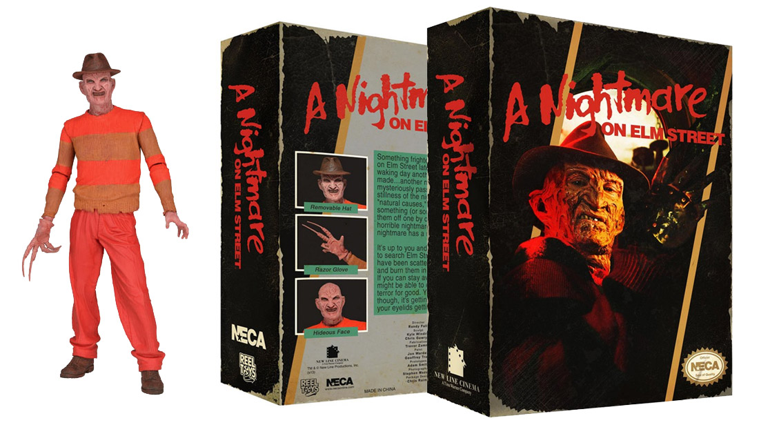 Freddy Krueger figure based on NES A Nightmare On Elm Street hits Nov.