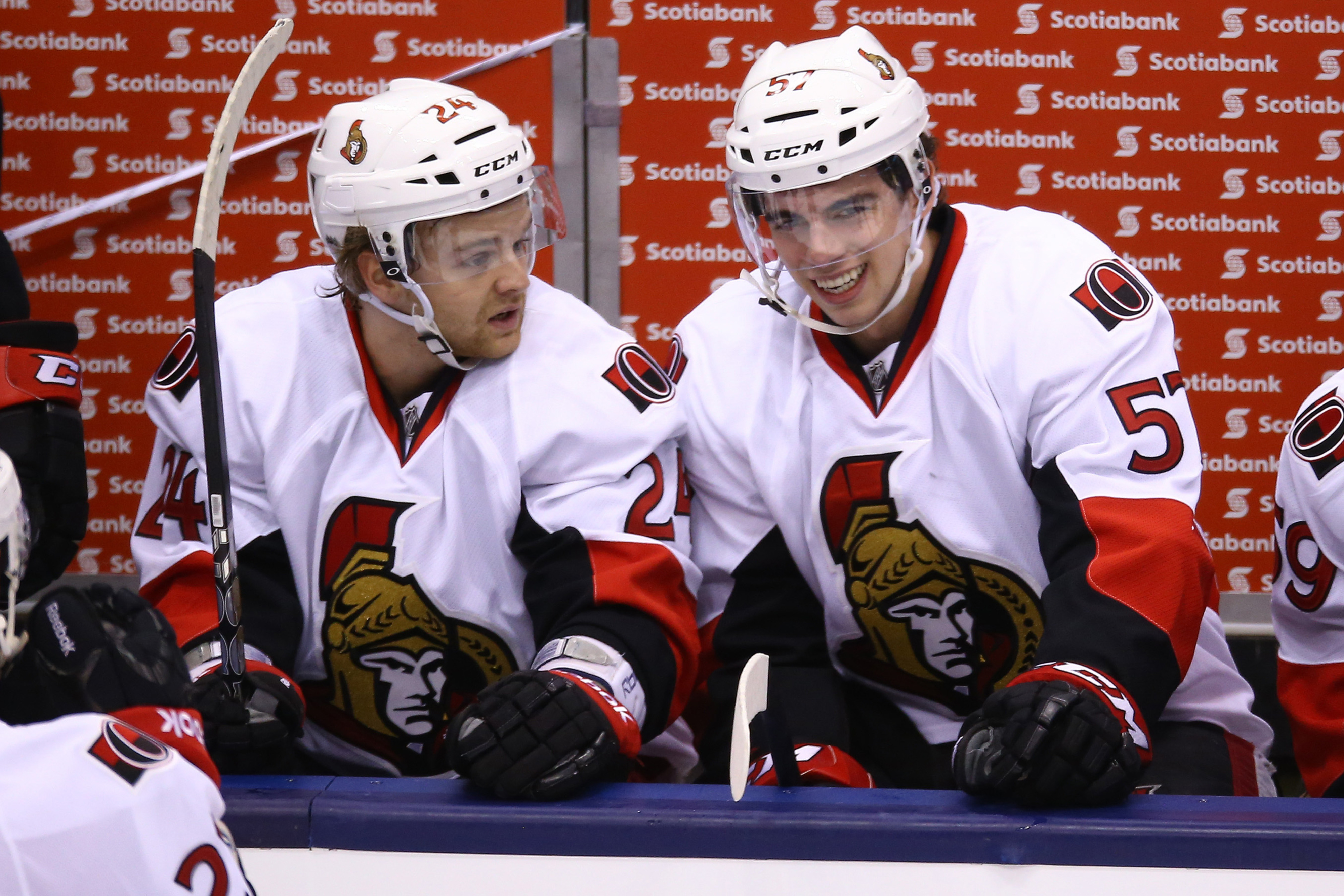 """""""Steph, that's a freaking hilarious impression of Chris Neil's penalty face."""""""