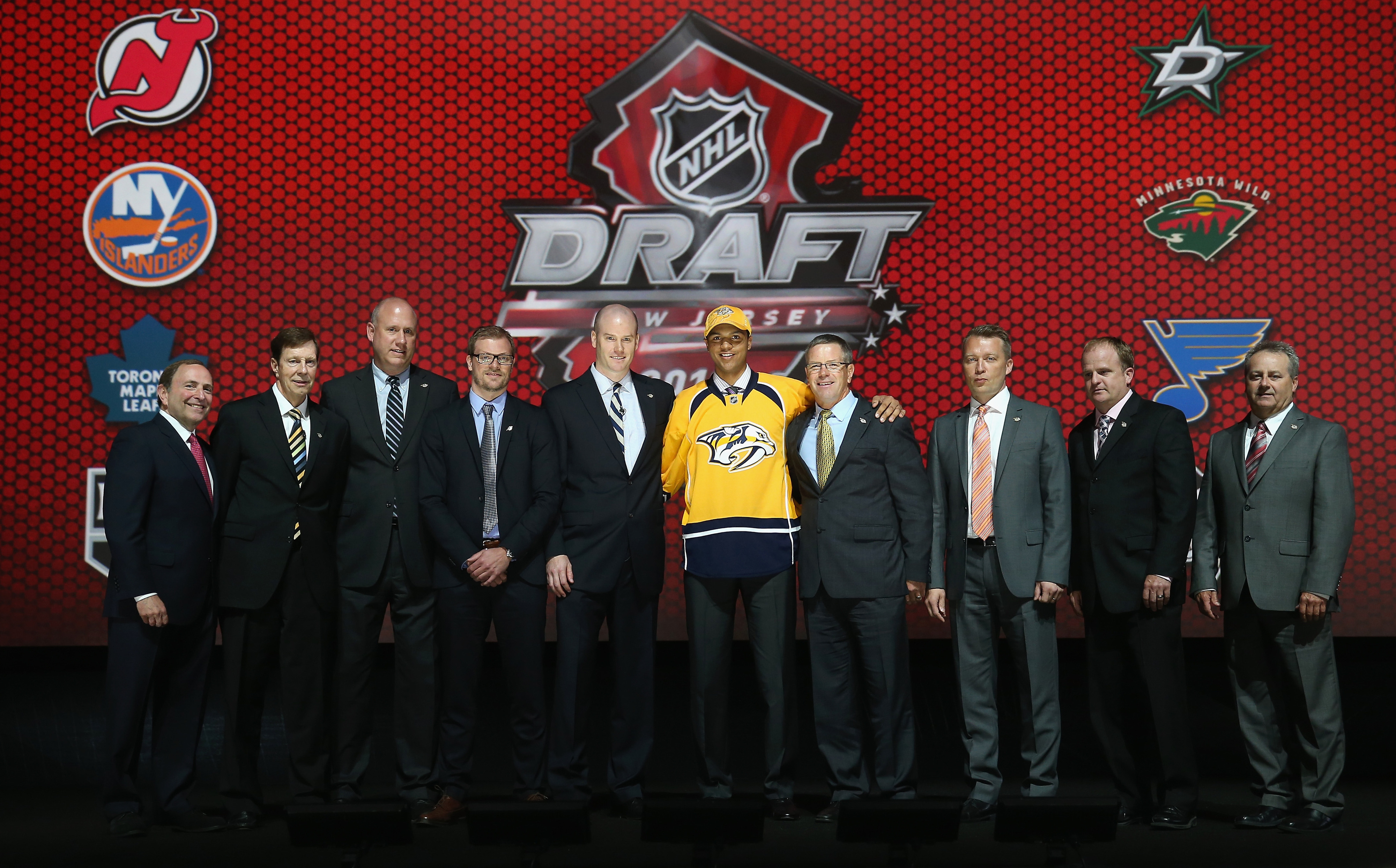 The Predators' staff couldn't have been happier to land their #1 player with the 4th overall pick.