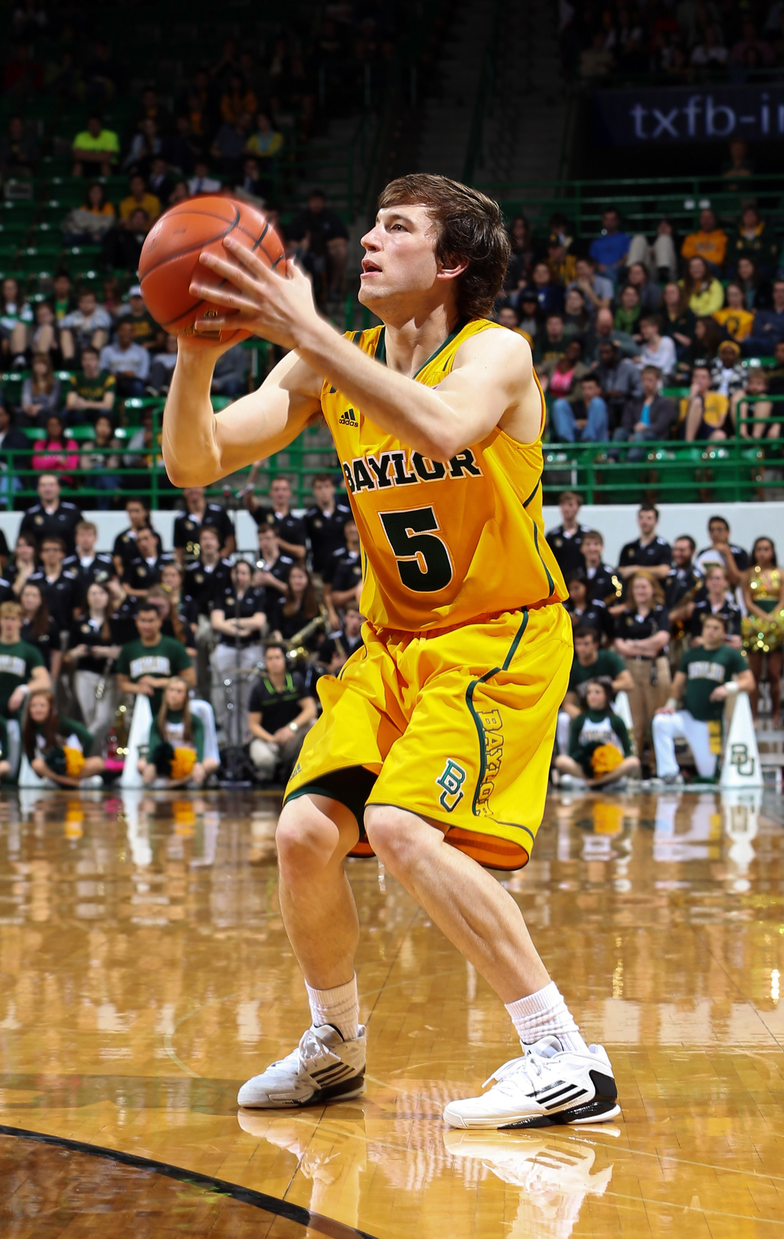 Heslip, who's bringing in shooting to the National Program will be a big piece for Baylor this season.