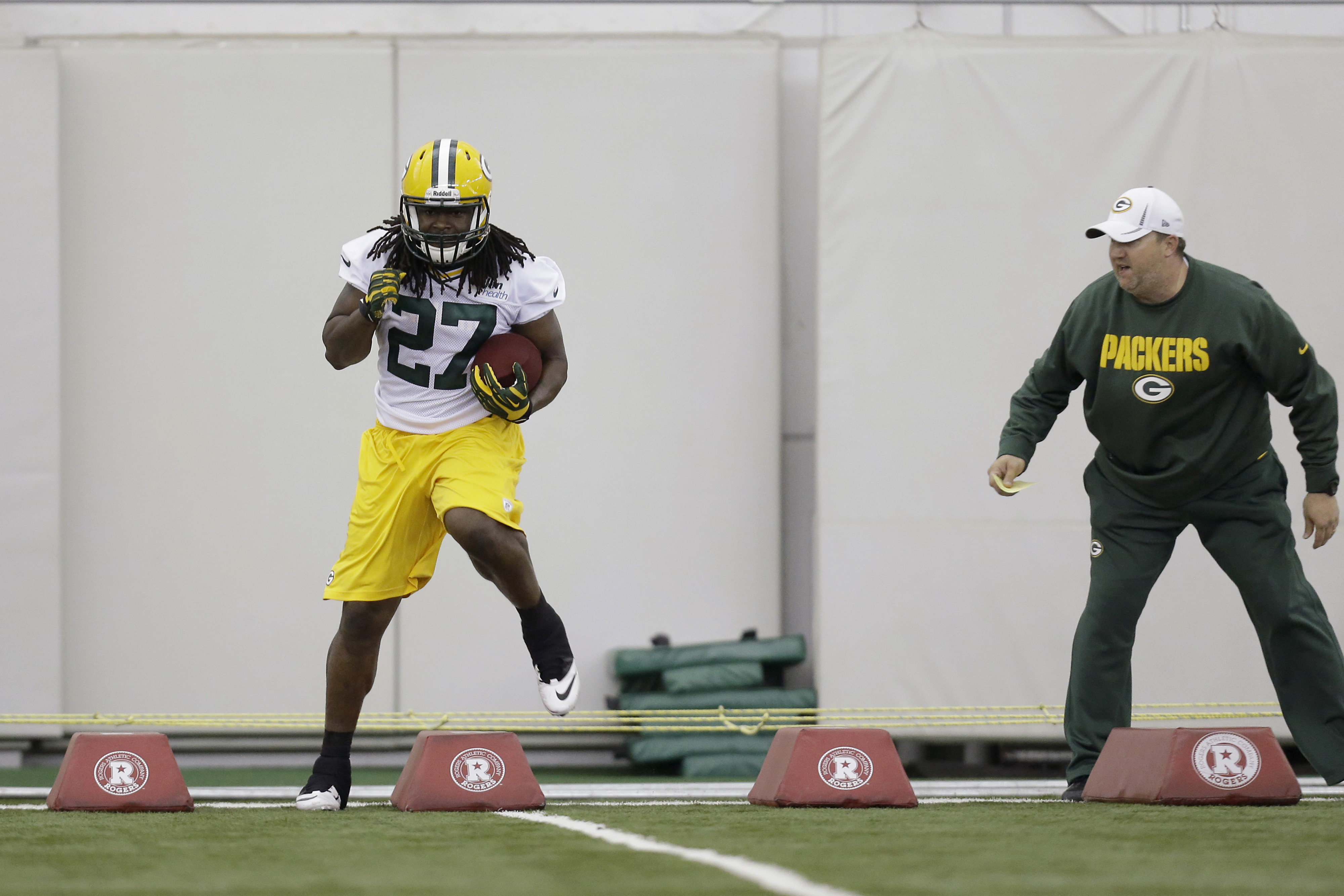 Eddie Lacy a 'concern' for preseason opener, Packers head coach says