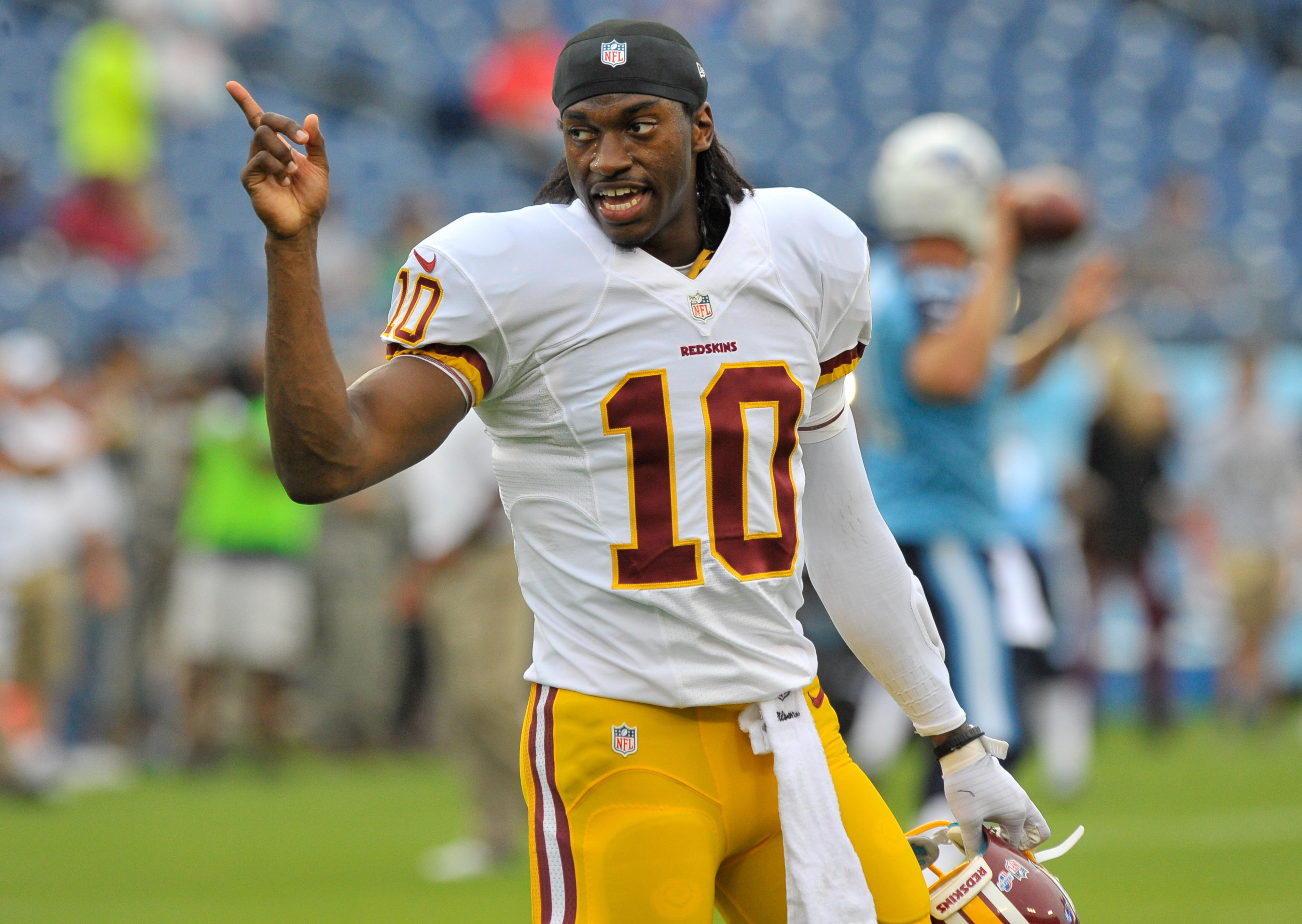 Robert Griffin III's return to team drills yet to be determined