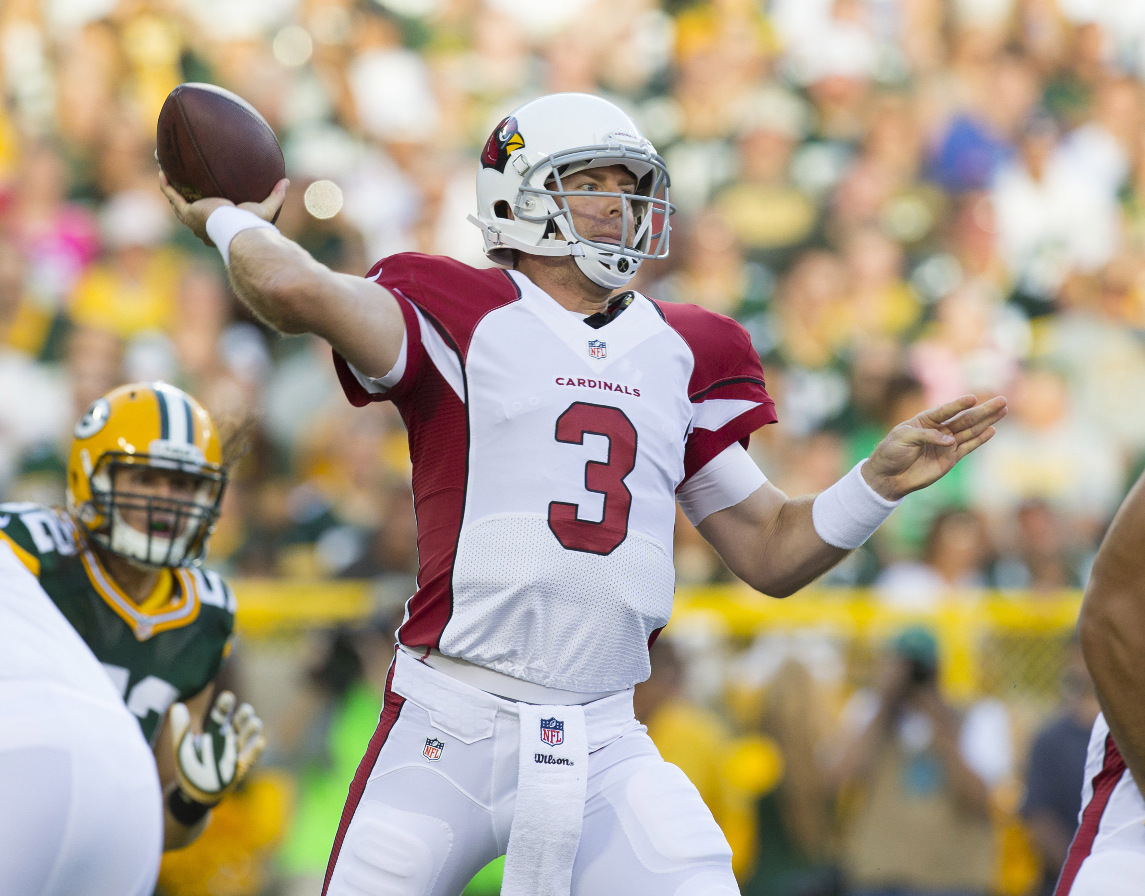 Carson Palmer looks good in first outing, fantasy value stable