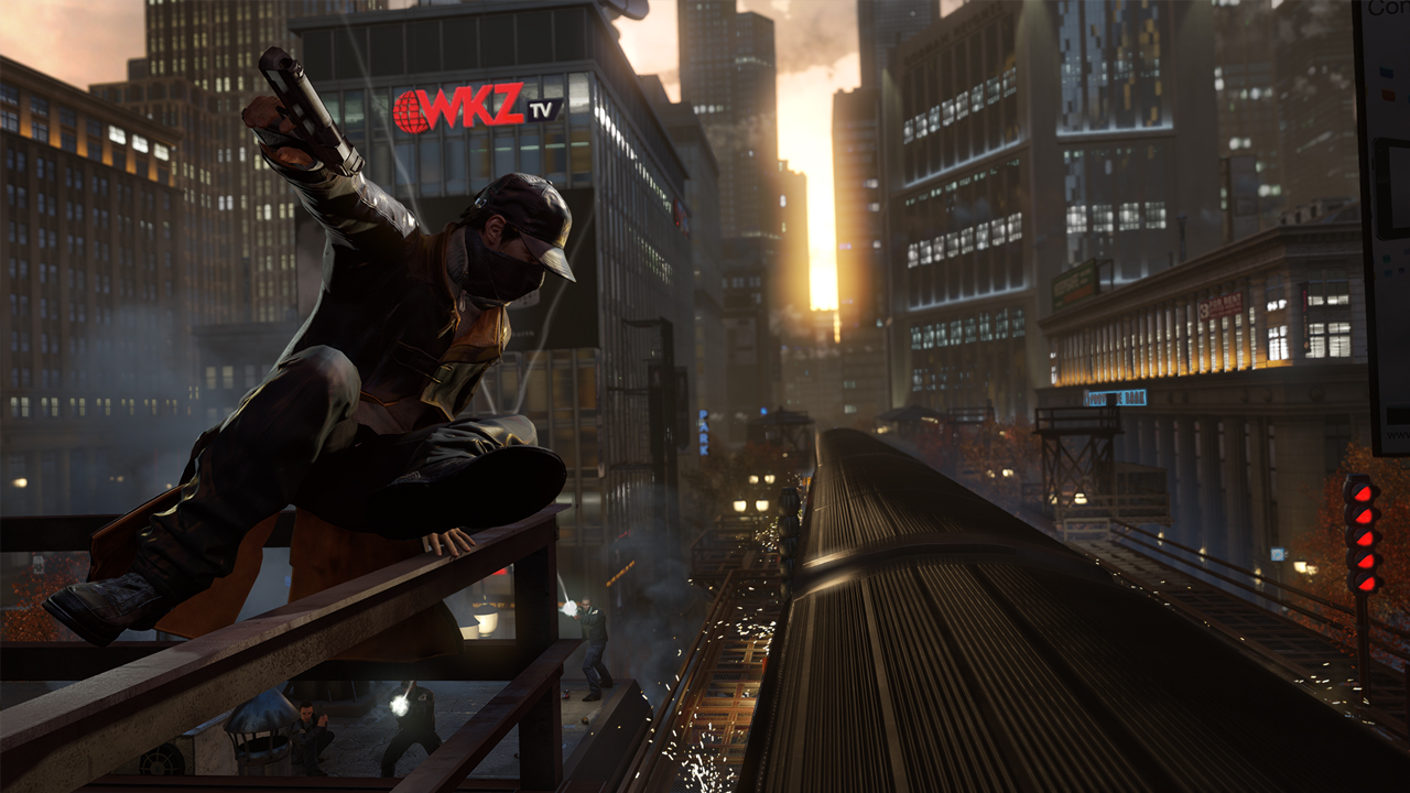 Watch Dogs won't allow flying but you can escape Chicago