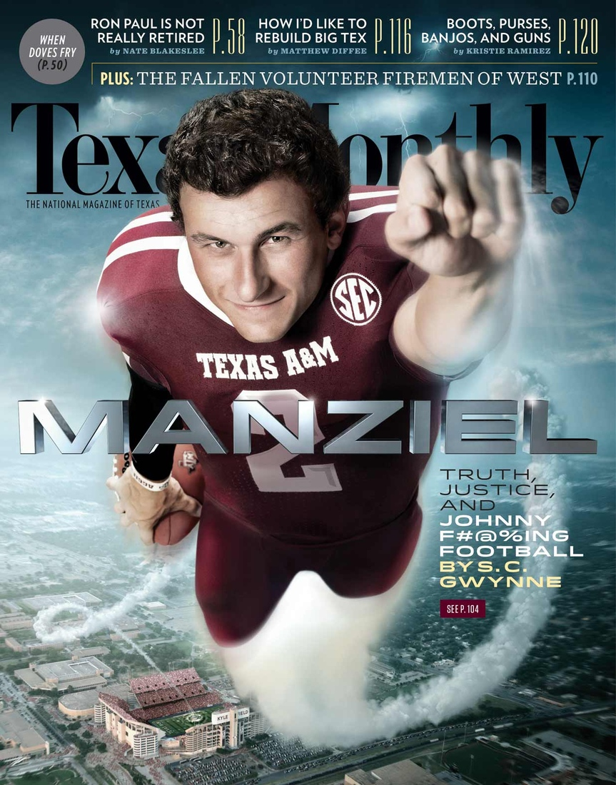 September cover of Texas Monthly