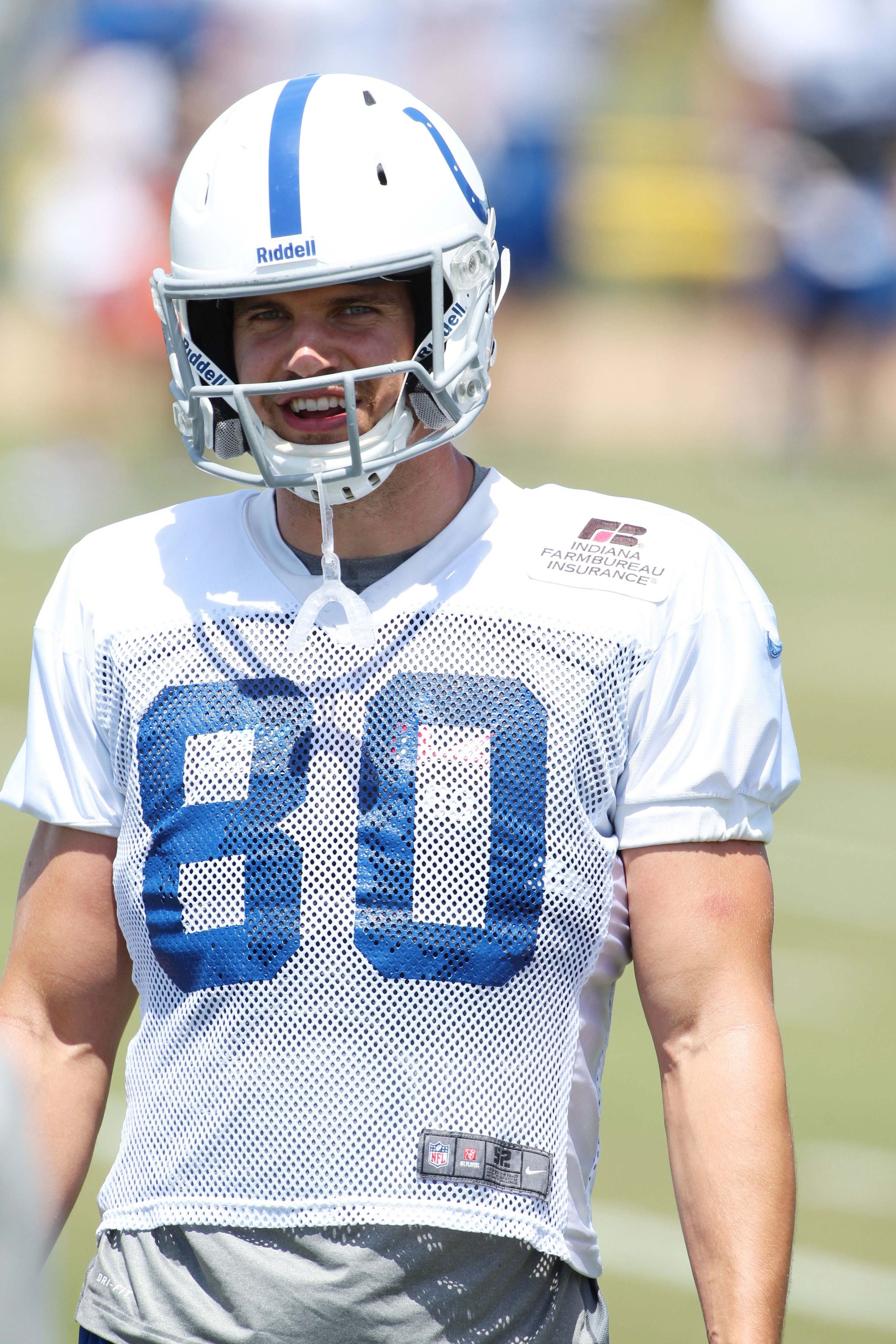 Coby Fleener injury: Colts TE has concussion, misses practice