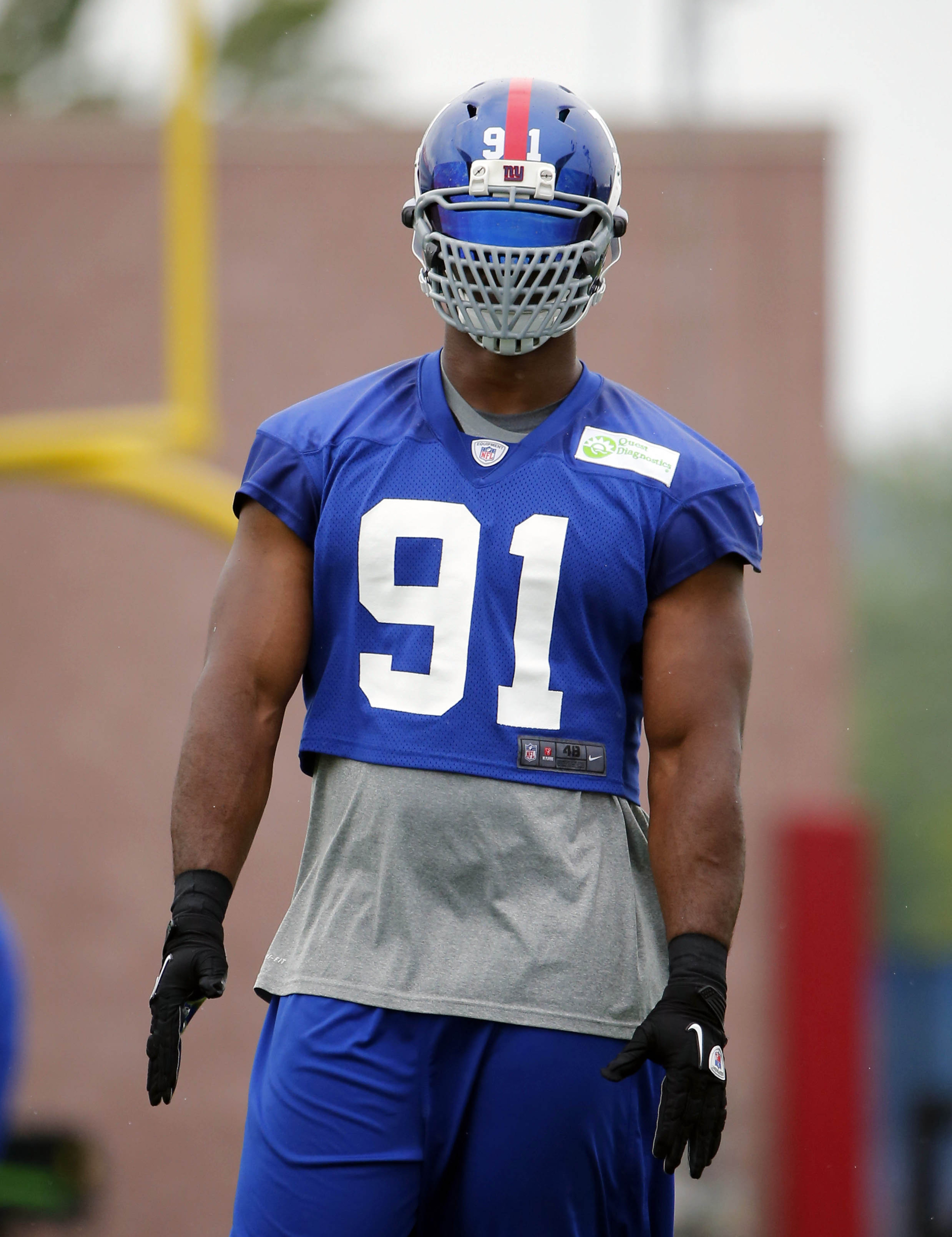 Justin Tuck exempt from NFL's face mask changes