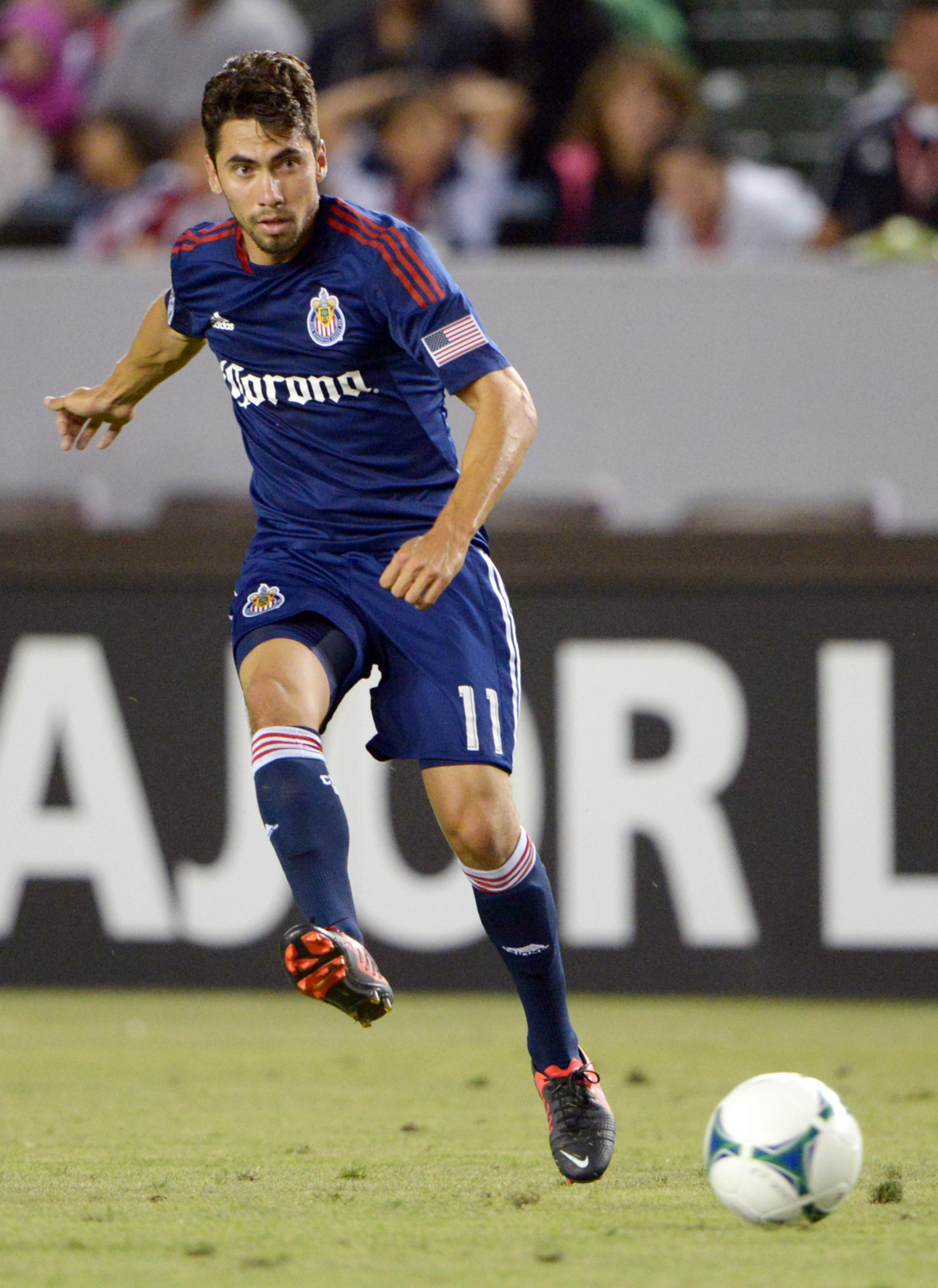 Gabriel Farfan left Chivas USA at a numerical disadvantage in their last match