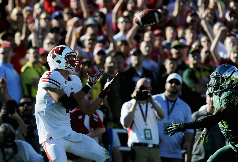 """Jared Abbrederis, aka """"WR #4,"""" could be there for the end of video game football as we know it."""