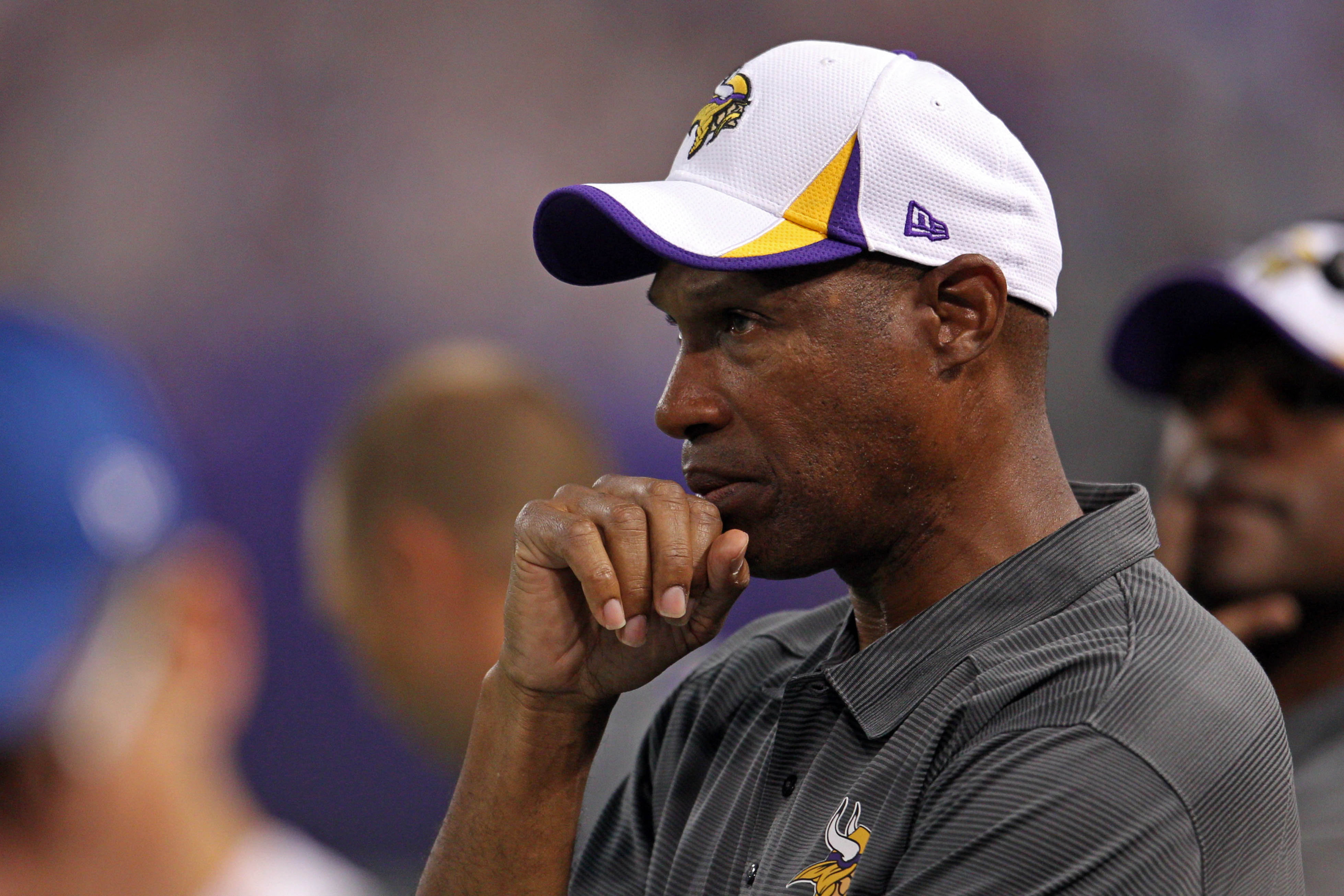 Leslie Frazier will be looking.