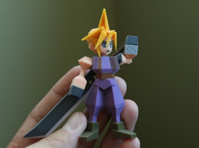Square Enix shuts down sale of 3D-printed Final Fantasy 7 figures