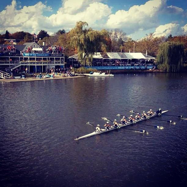 Villanova Women's Rowing Club 8: Head of the Charles 2012