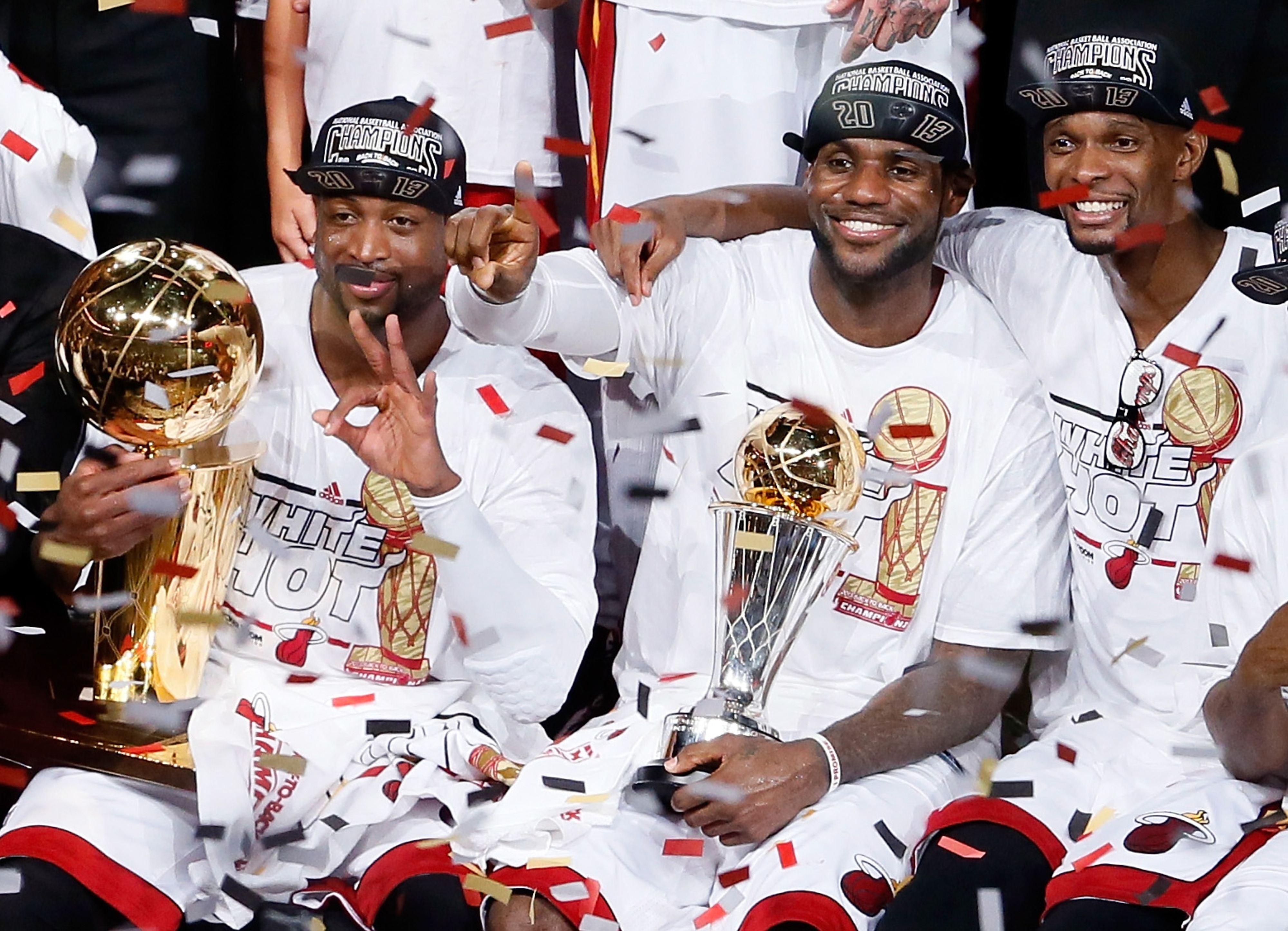 Dwyane Wade optimistic Big 3 will stay together past 2014