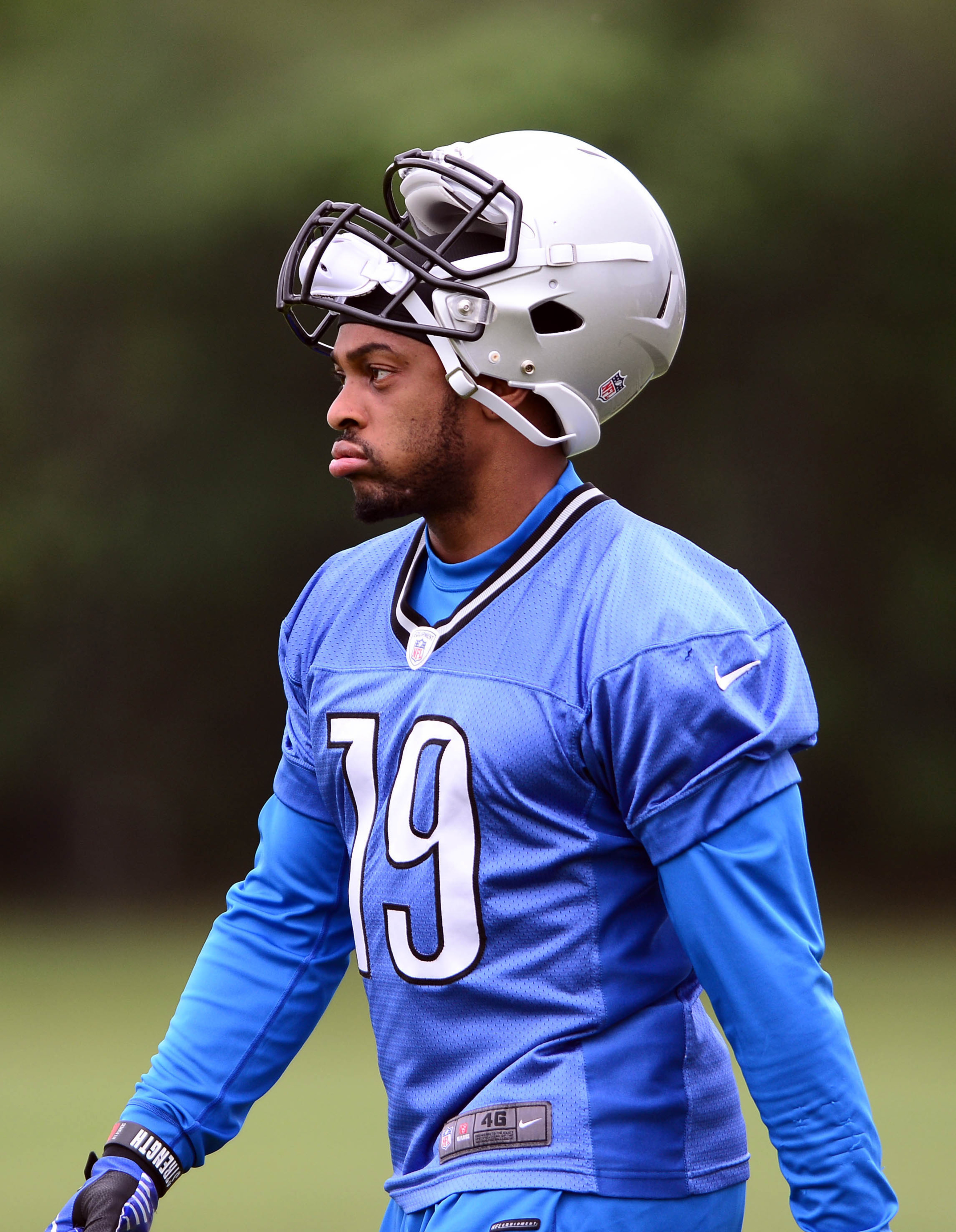Mike Thomas released by Detroit Lions