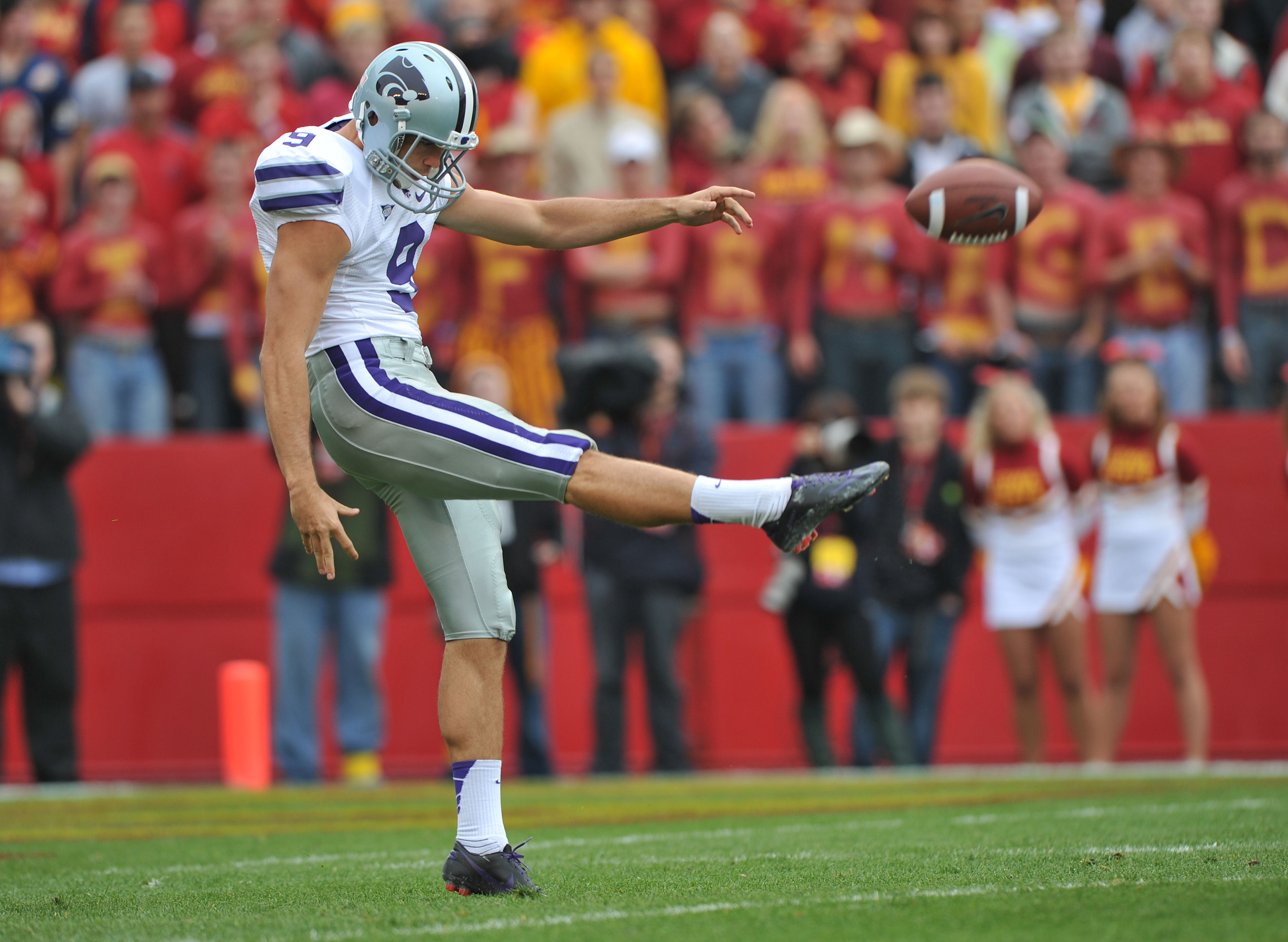 Our punter very well could look like this for the next four seasons, too.