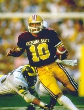 Jeff Van Raaphorst was the 1987 Rose Bowl MVP.