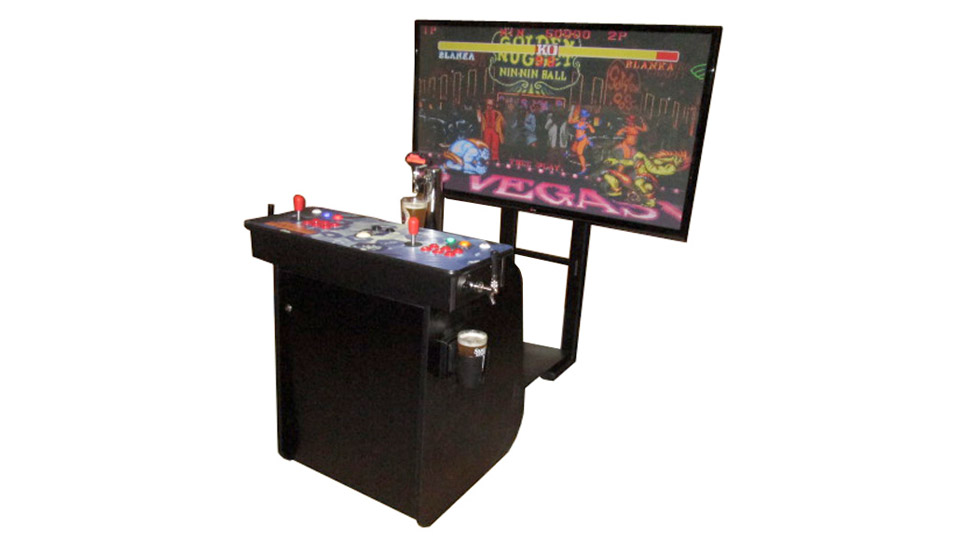 Dream Arcades' Kegerator Pro: a fusion of classic video games and beer